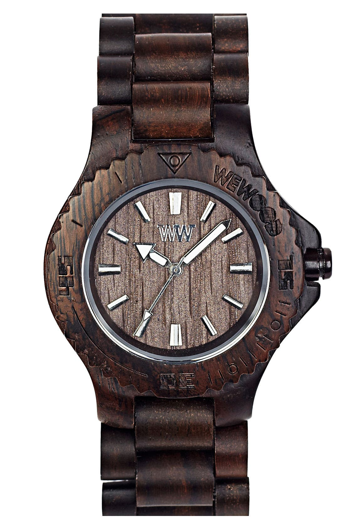 Alternate Image 1 Selected - WeWOOD 'Date' Bracelet Watch, 40mm
