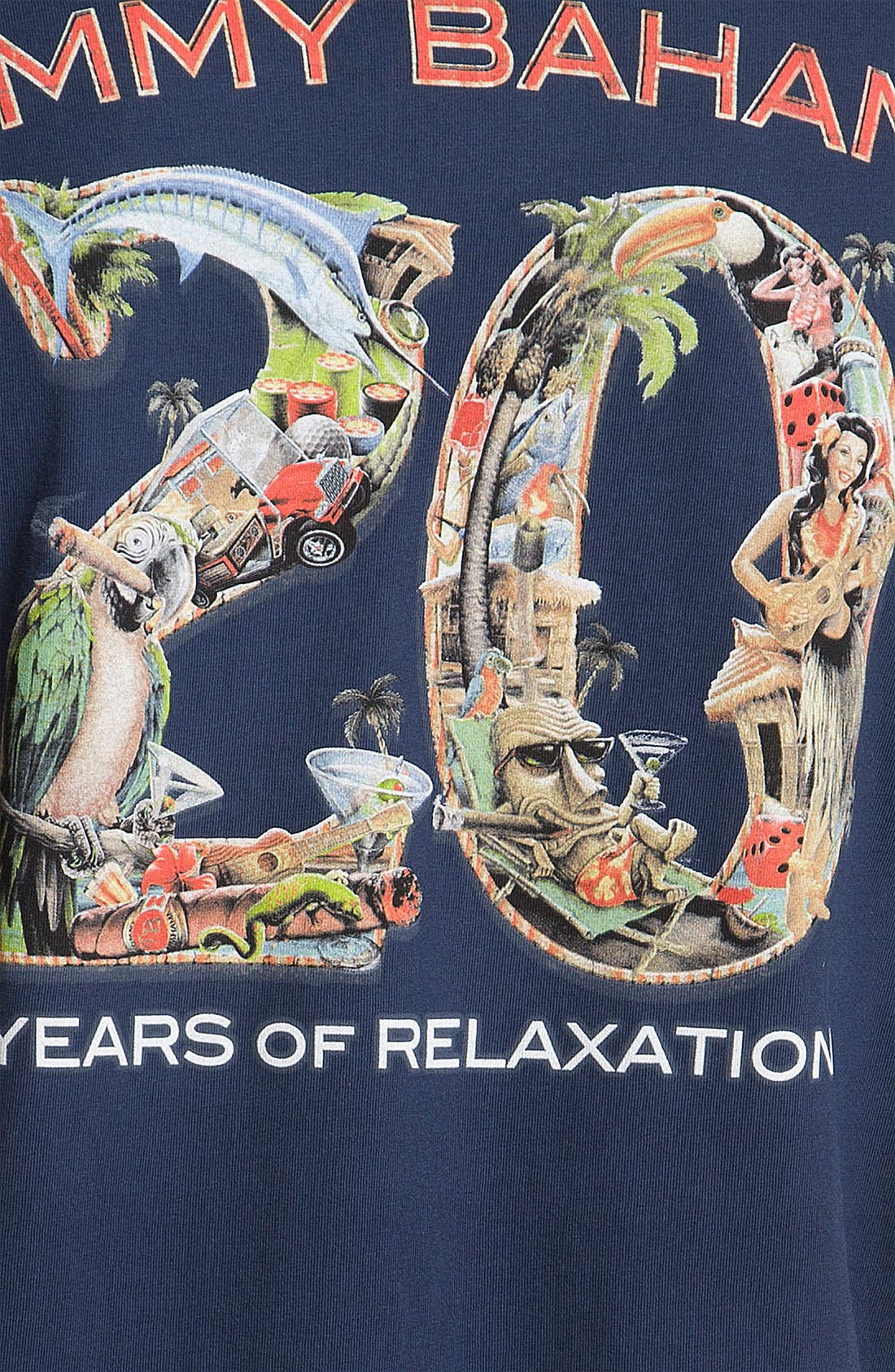 Alternate Image 3  - Tommy Bahama '20 Years of Relaxation' Cotton T-Shirt