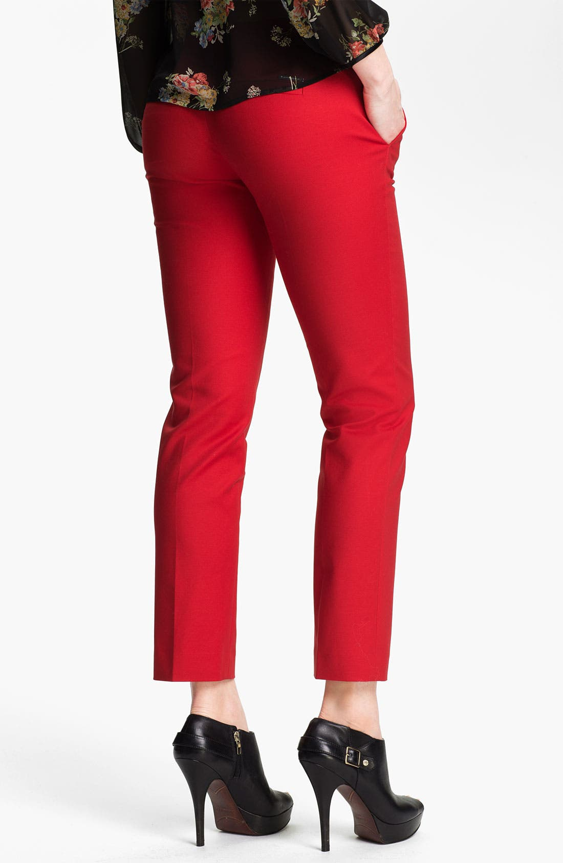Alternate Image 2  - MICHAEL Michael Kors Skinny Ankle Pants (Regular & Petite)