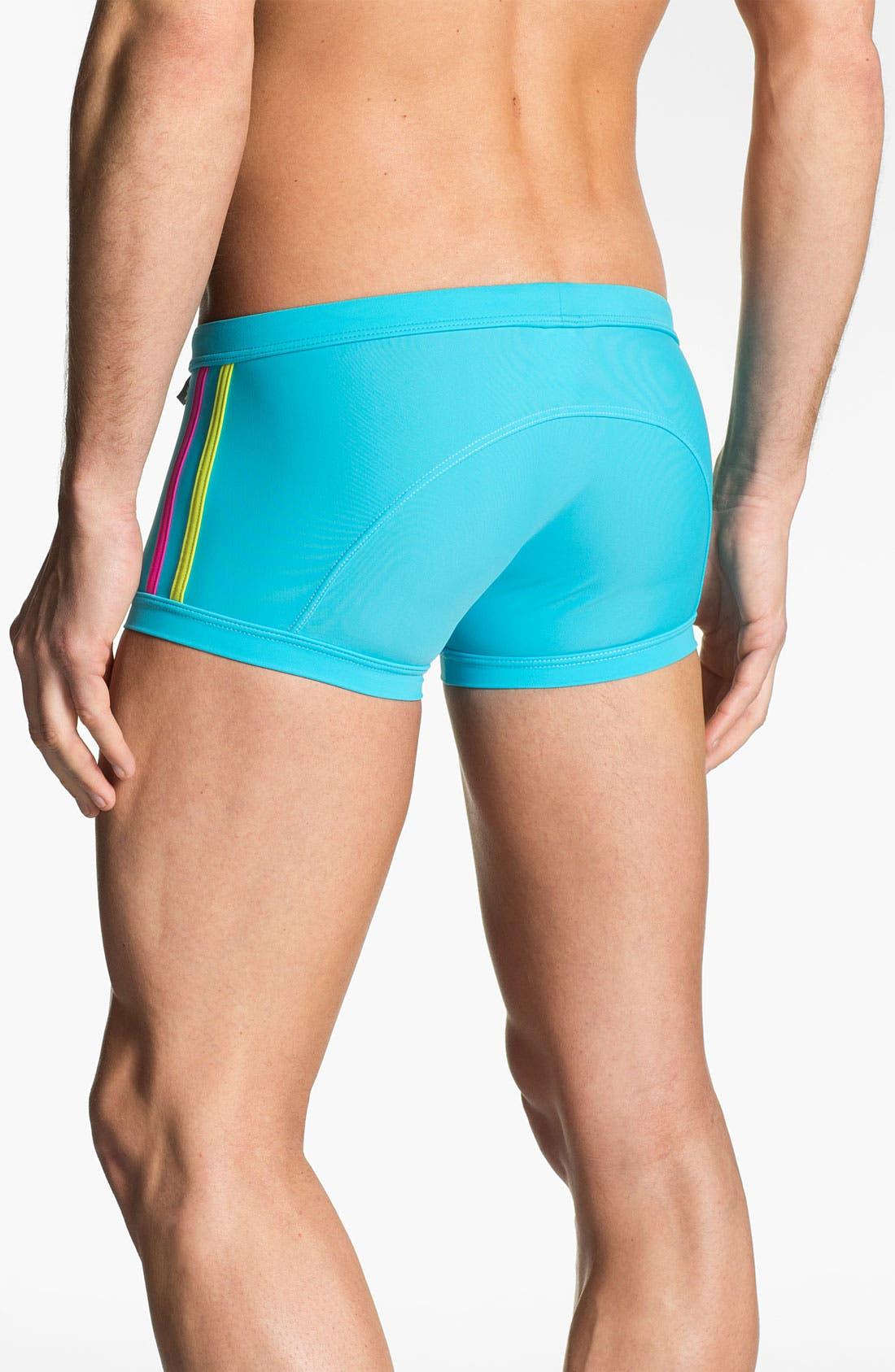 Alternate Image 2  - Andrew Christian 'Almost Naked - Triathlon' Swim Trunks