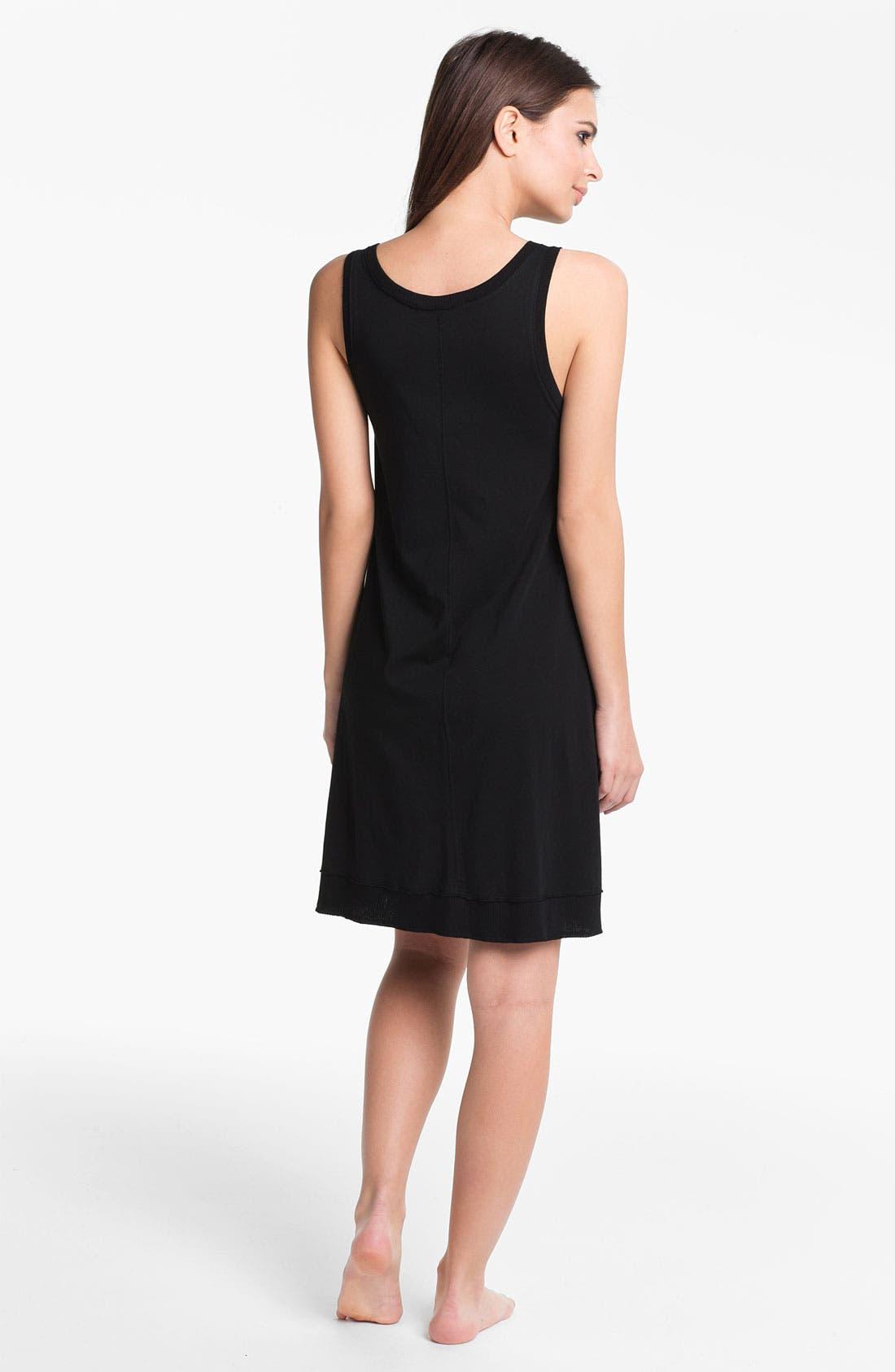 Alternate Image 2  - Donna Karan 'Casual Luxe' Sleep Shirt