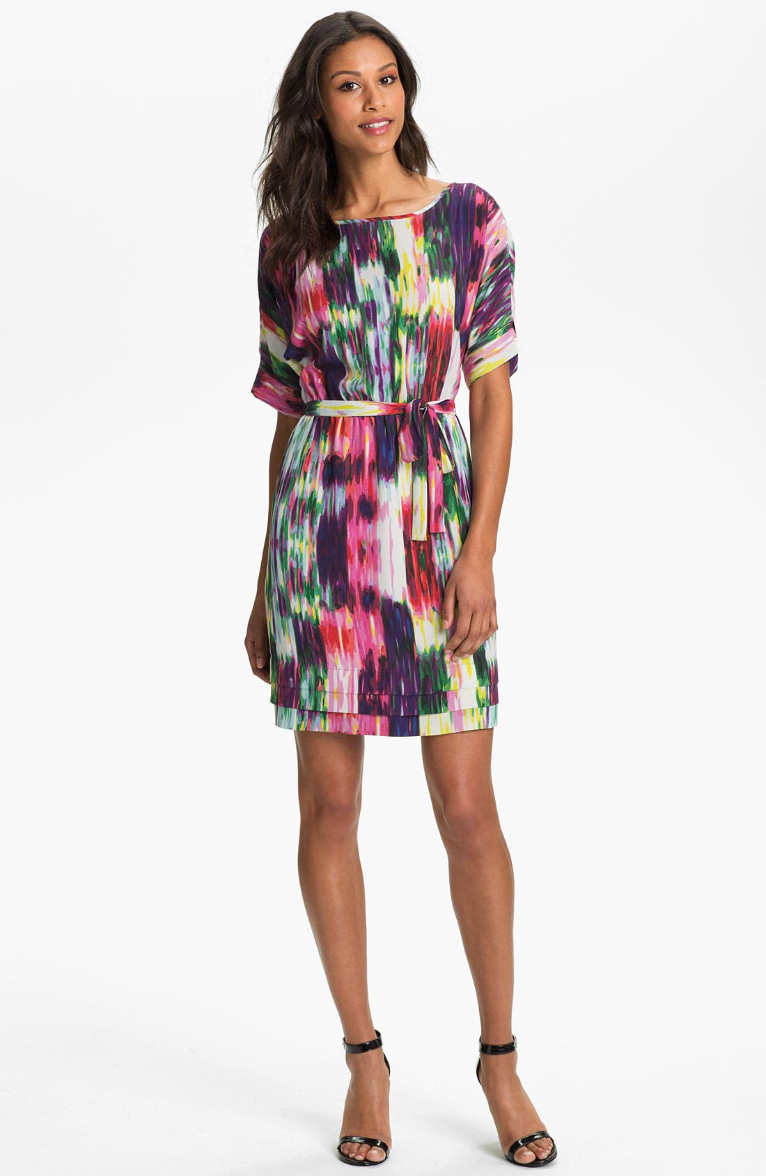 Alternate Image 1 Selected - Presley Skye Dolman Sleeve Print Dress