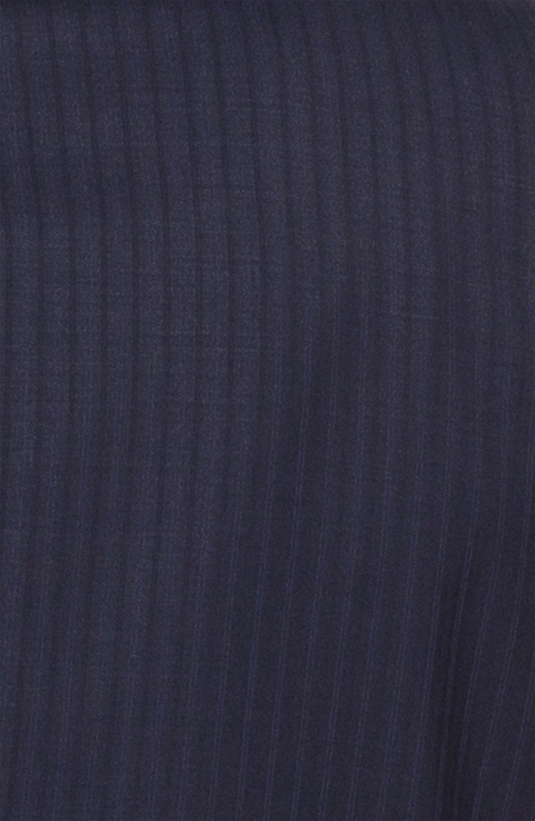 Alternate Image 6  - Peter Millar Stripe Wool Suit