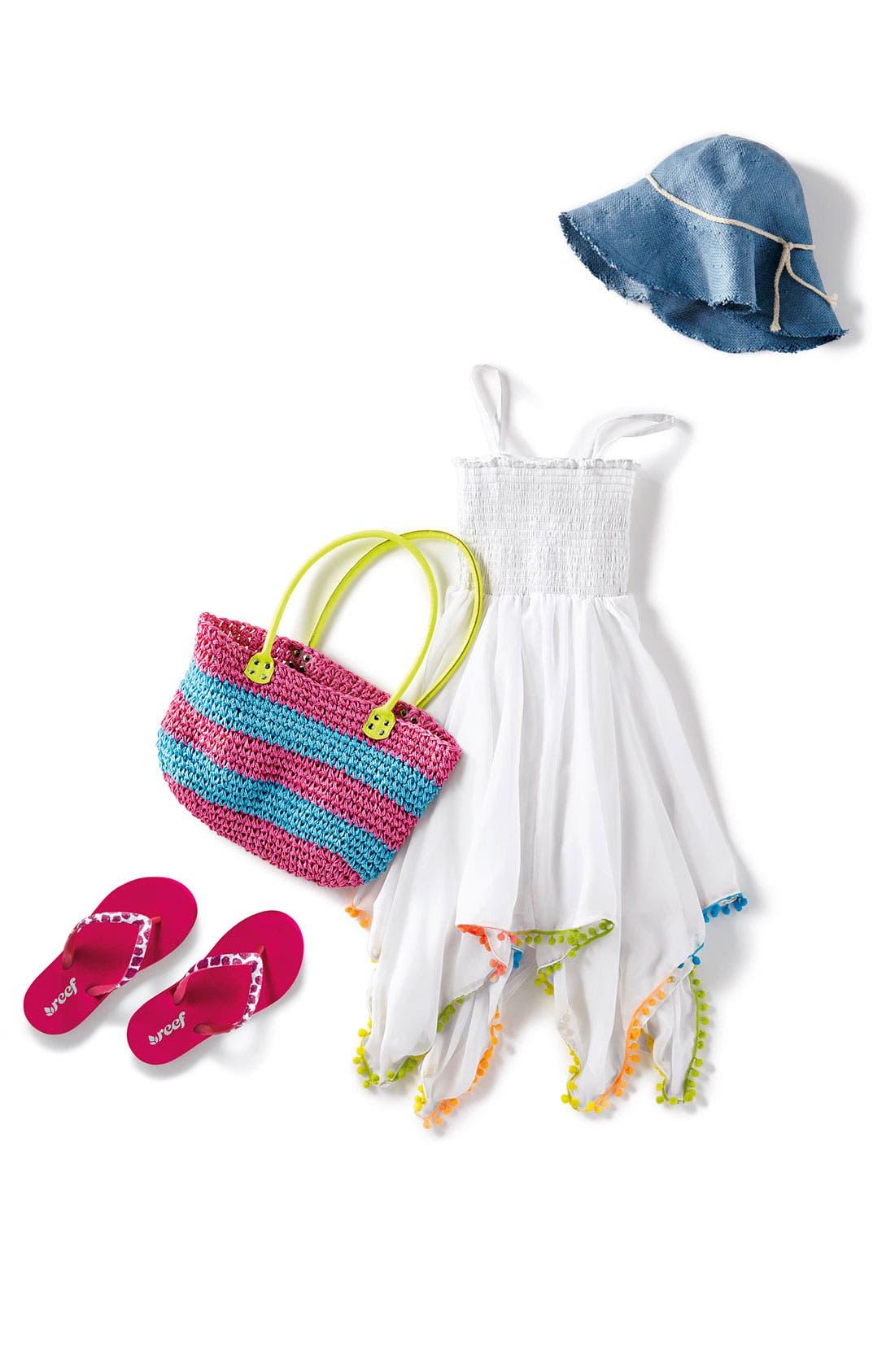 Alternate Image 2  - Cejon 'Over The Rainbow' Dress (Toddler, Little Girls & Big Girls)