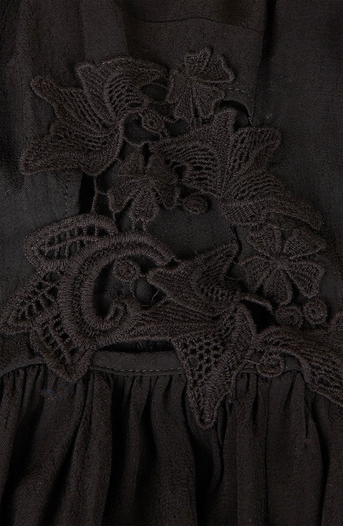 Alternate Image 5  - Topshop Side Crochet Sundress