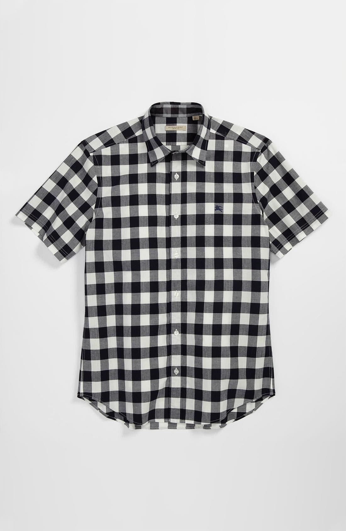 Alternate Image 4  - Burberry Brit 'Henry' Short Sleeve Trim Fit Sport Shirt