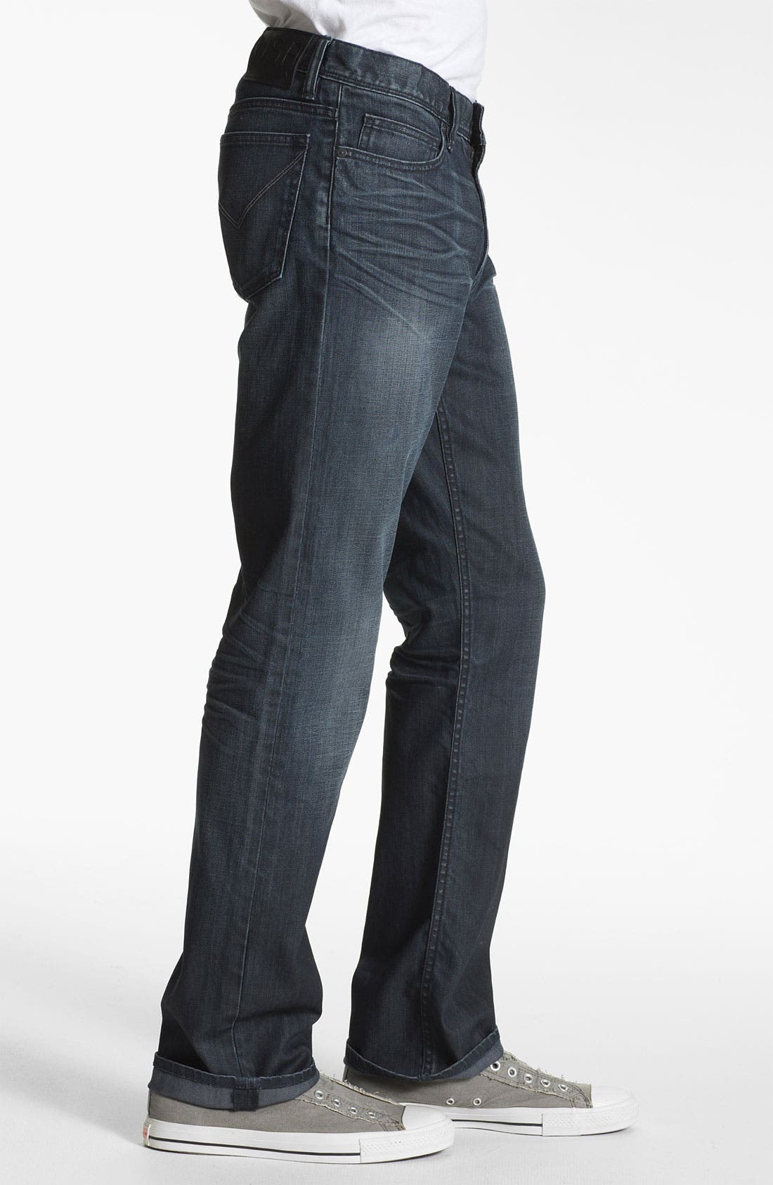 Alternate Image 3  - John Varvatos Star USA 'Authentic' Straight Leg Jeans (Storm Wash)