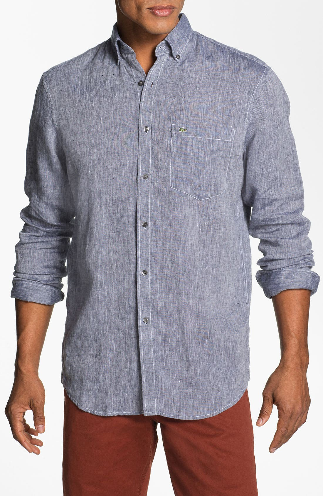 Main Image - Lacoste Linen Shirt
