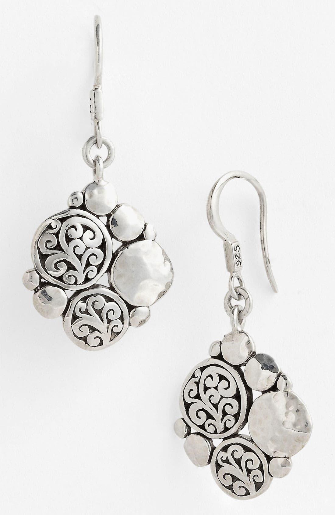 Alternate Image 1 Selected - Lois Hill 'Classy Cutout Waves' Diamond Shape Drop Earrings