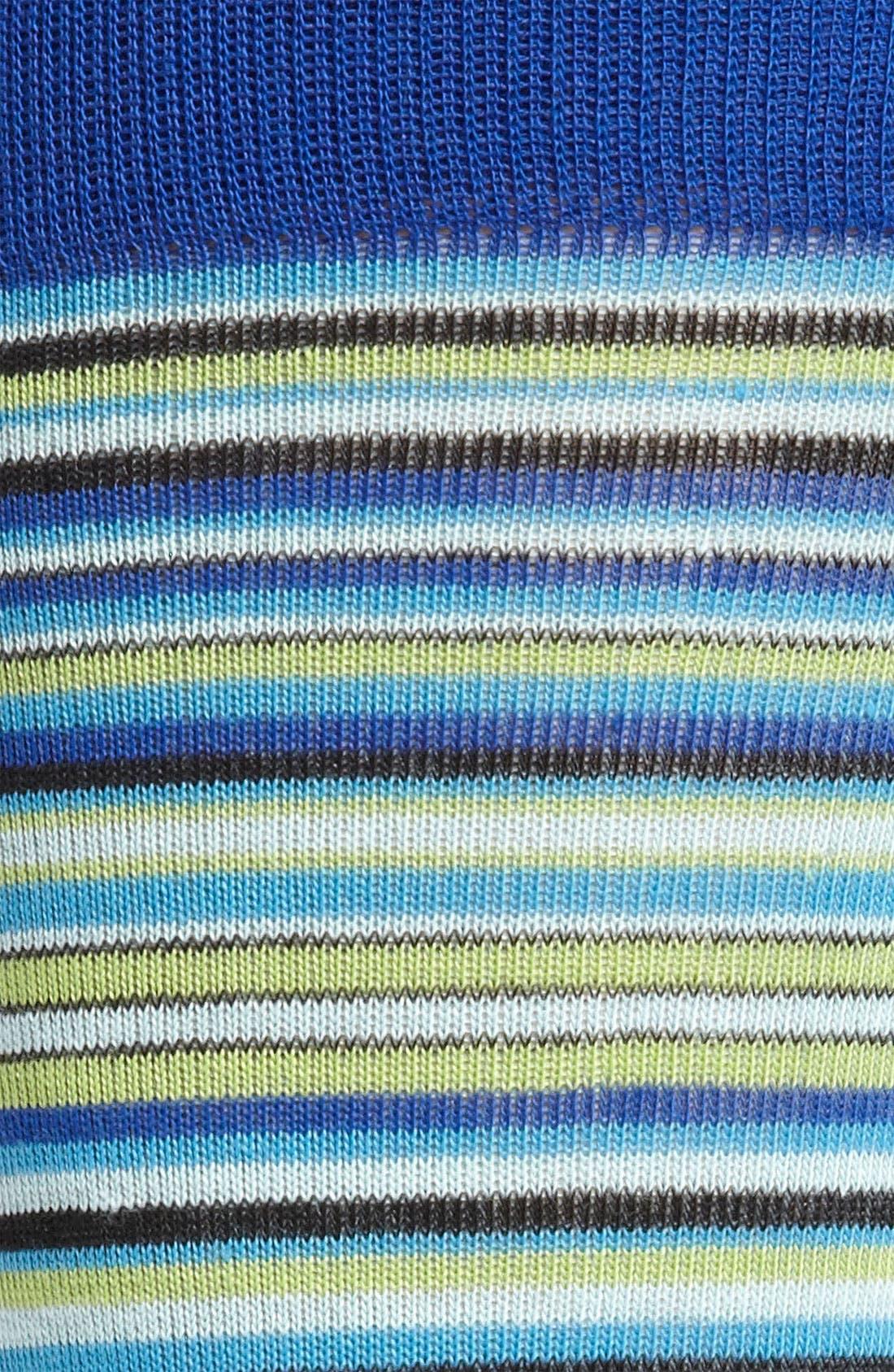 Alternate Image 2  - Cole Haan 'Town Stripe' Crew Socks