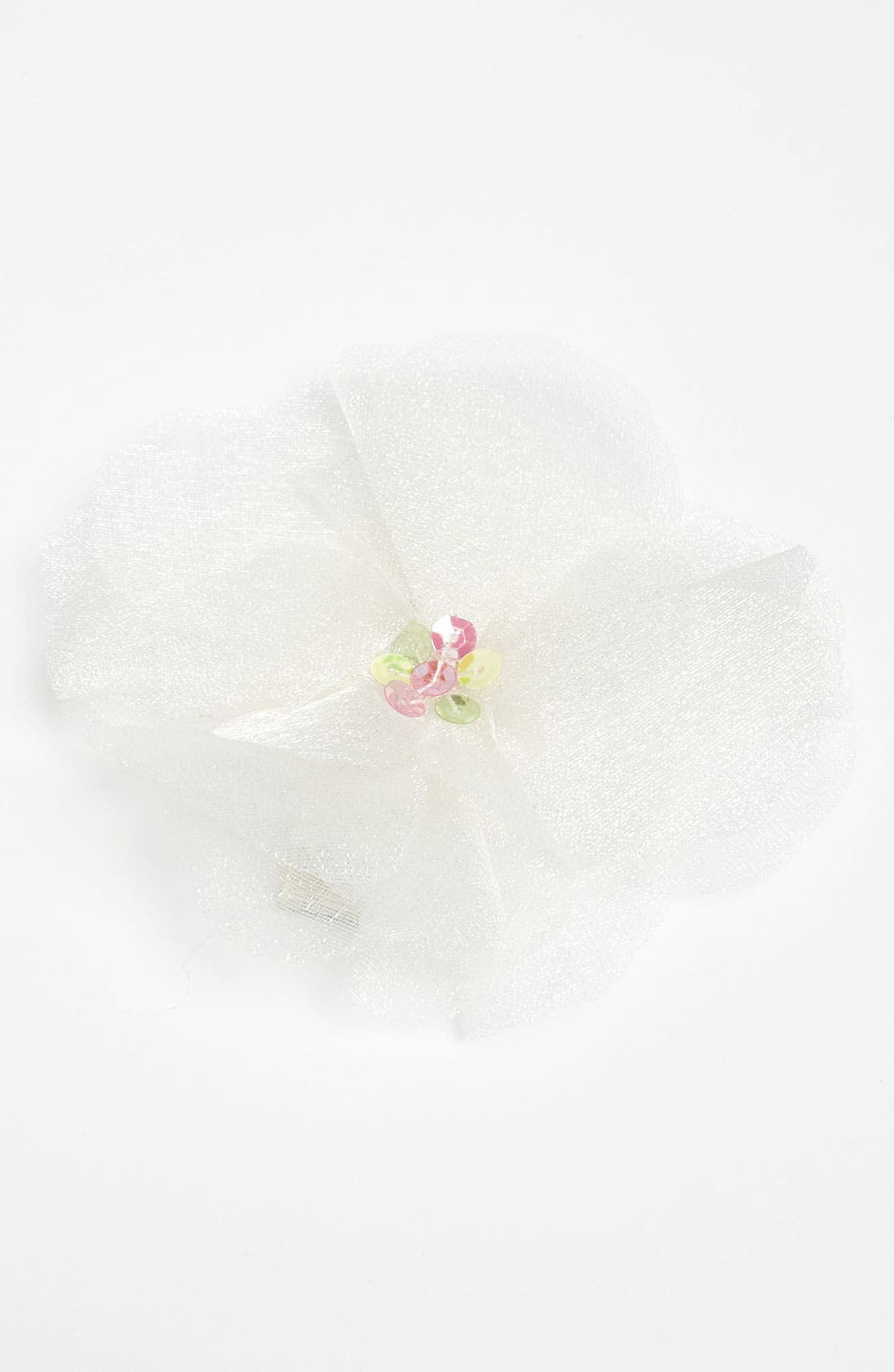 Main Image - PLH Bows & Laces Organza Hair Clip