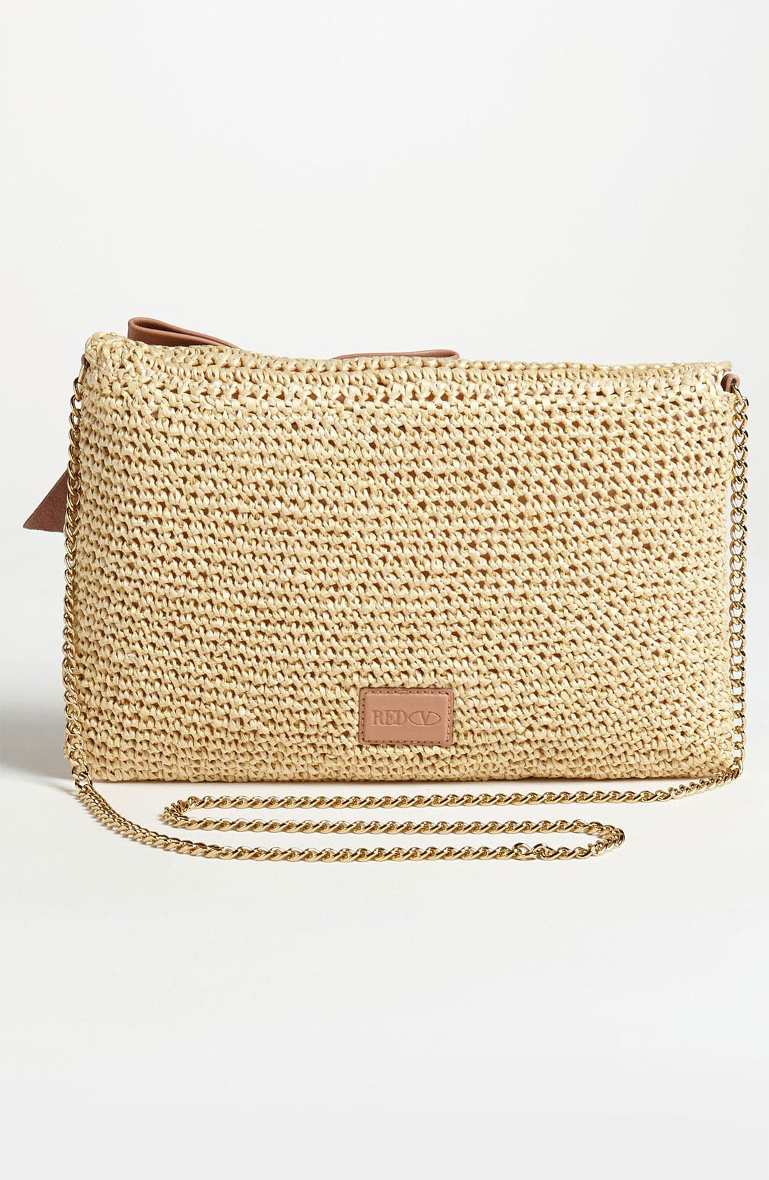 Alternate Image 4  - RED Valentino Crochet Raffia Crossbody Bag