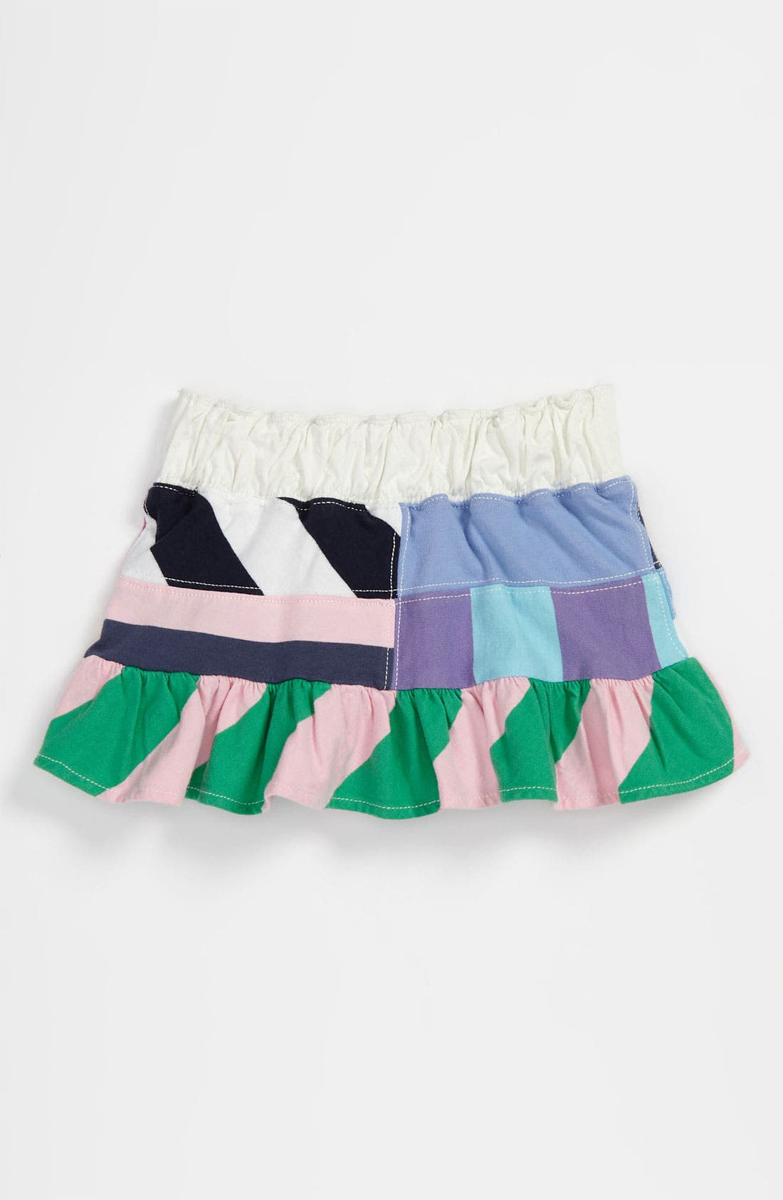 Alternate Image 2  - Ralph Lauren Patchwork Skirt (Toddler)