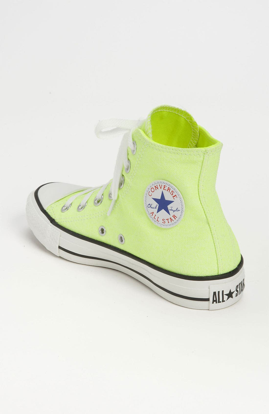 Alternate Image 2  - Converse Chuck Taylor® All Star® Washed Neon High Top Sneaker (Women)