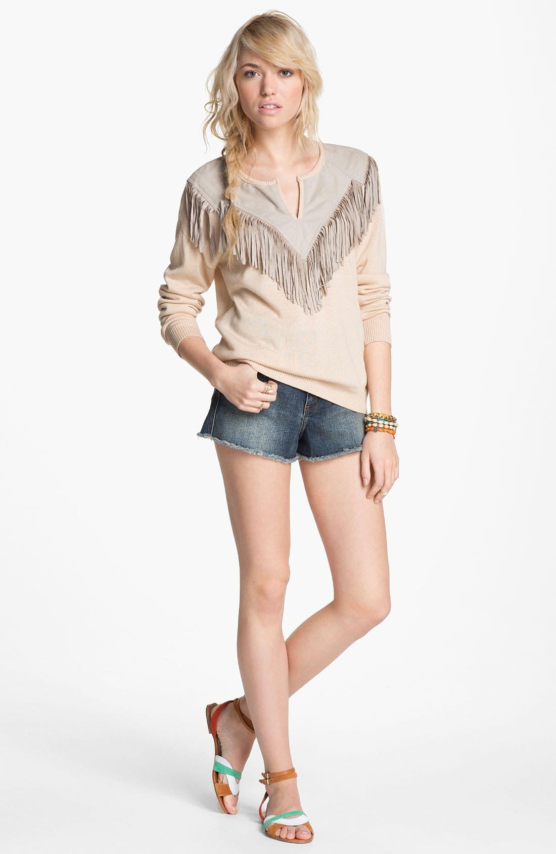 Alternate Image 2  - Piper Fringe Sweater