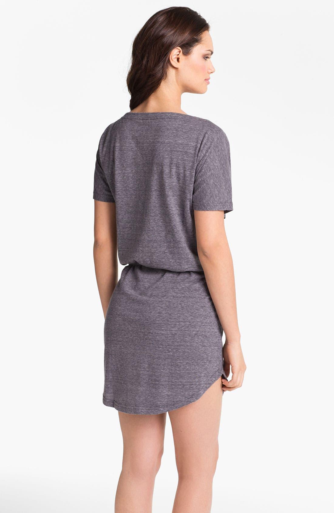 Alternate Image 2  - Eco Swim Blouson Cover-Up Dress