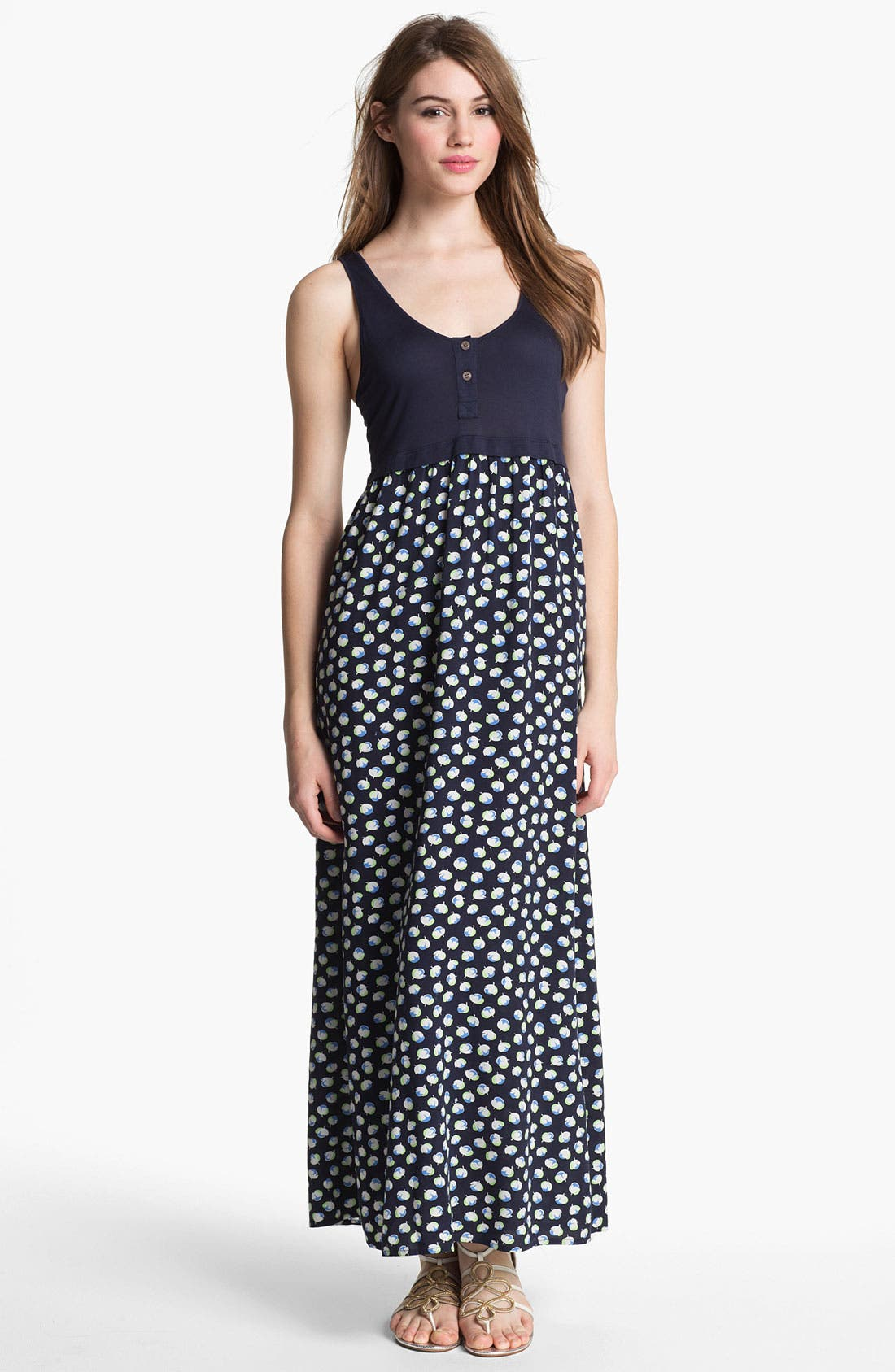 Main Image - Two by Vince Camuto Floral Maxi Dress