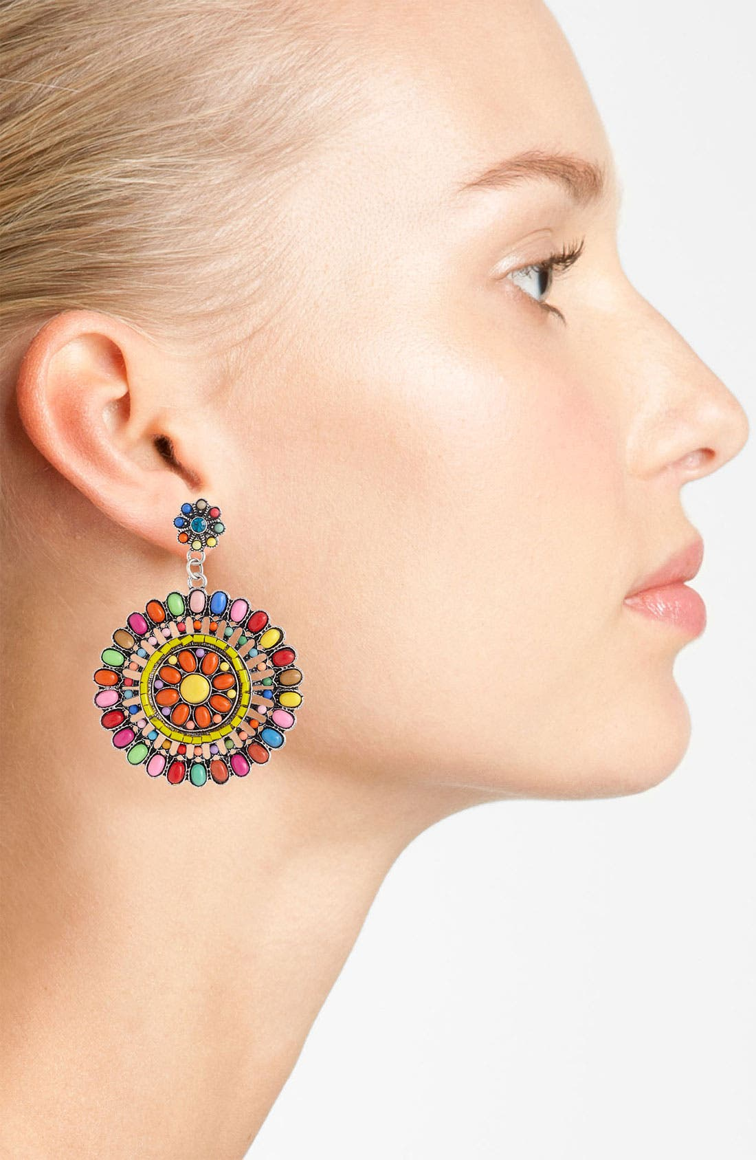 Alternate Image 2  - Guinevere 'Fiesta' Earrings