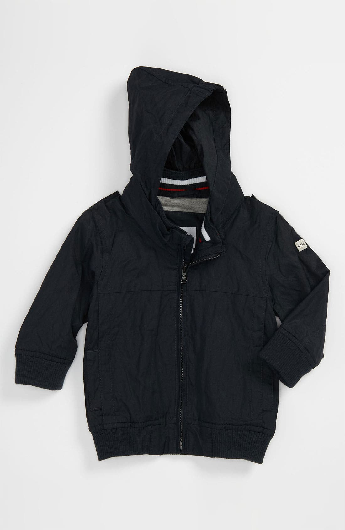 Alternate Image 1 Selected - BOSS Kidswear Twill Jacket (Baby)