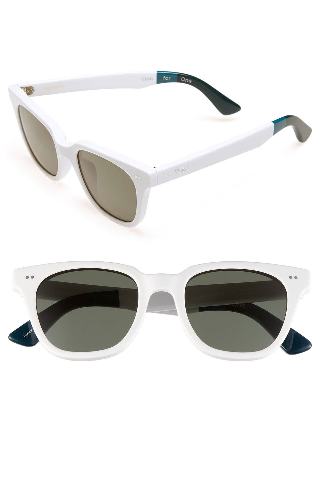 Alternate Image 1 Selected - TOMS 'Memphis' 49mm Sunglasses