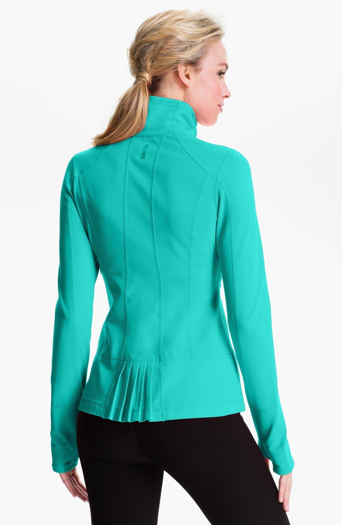 Alternate Image 1 Selected - Zella 'Allison' Back Pleat Jacket
