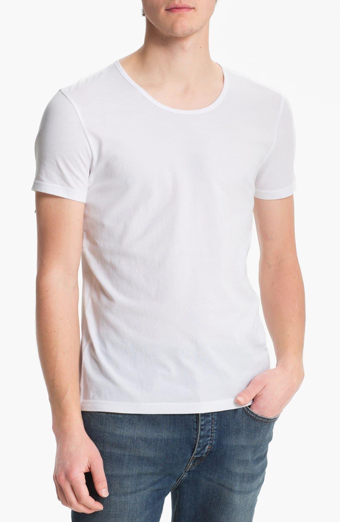 Alternate Image 1 Selected - Topman Scoop Neck T-Shirt