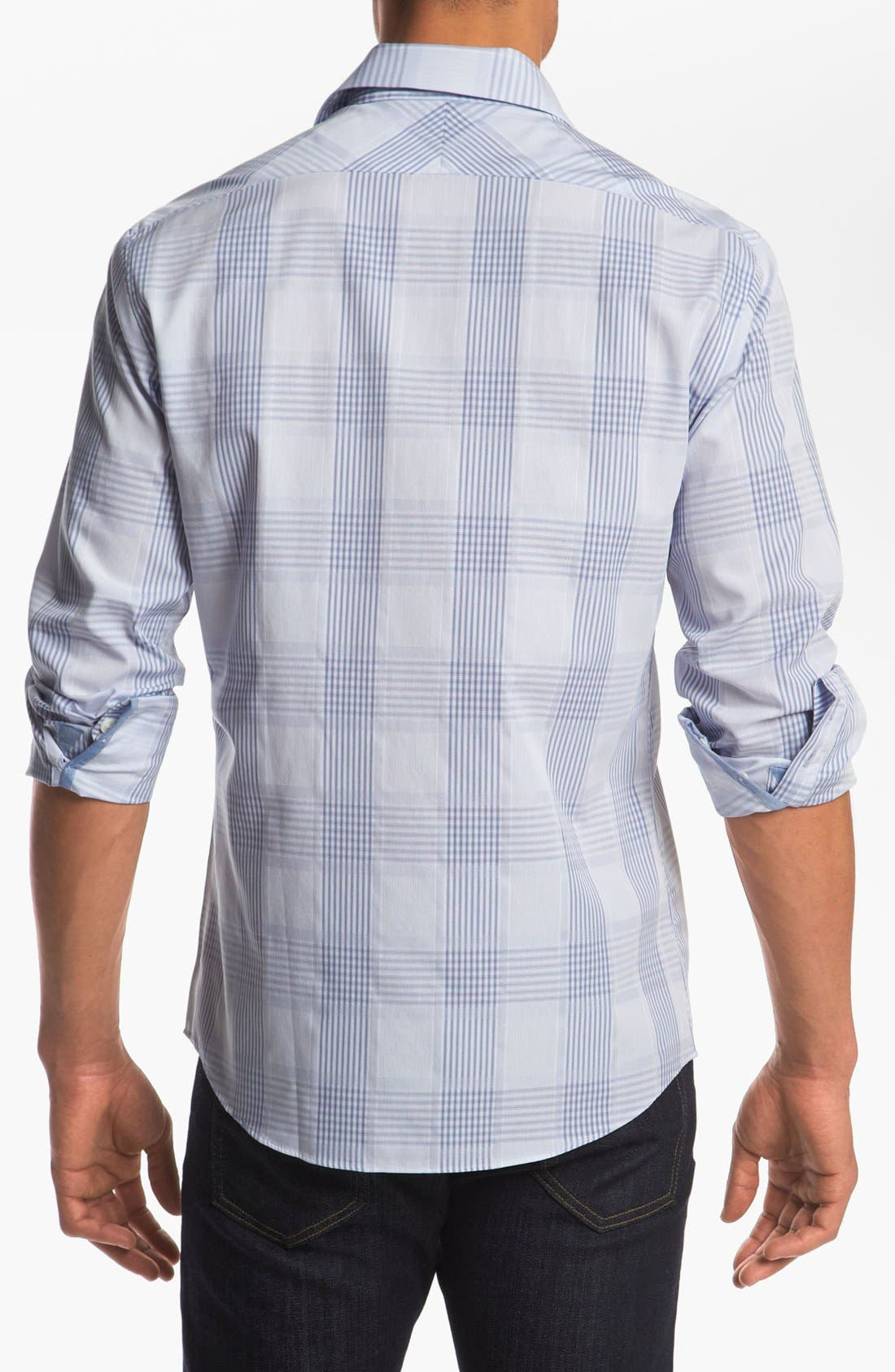 Alternate Image 2  - Kenson Trim Fit Sport Shirt