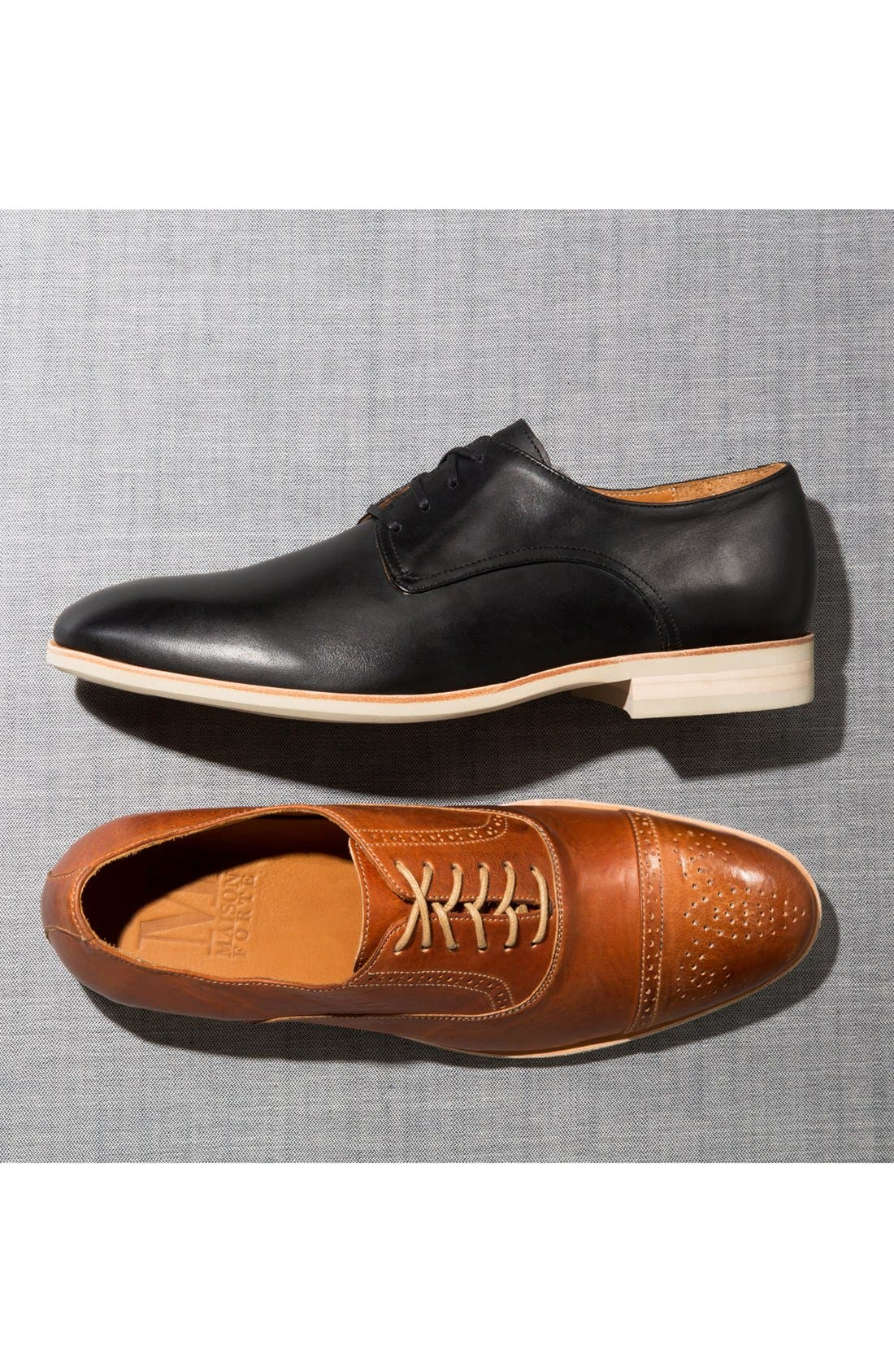 Alternate Image 5  - Maison Forte 'Hyeres' Cap Toe Oxford