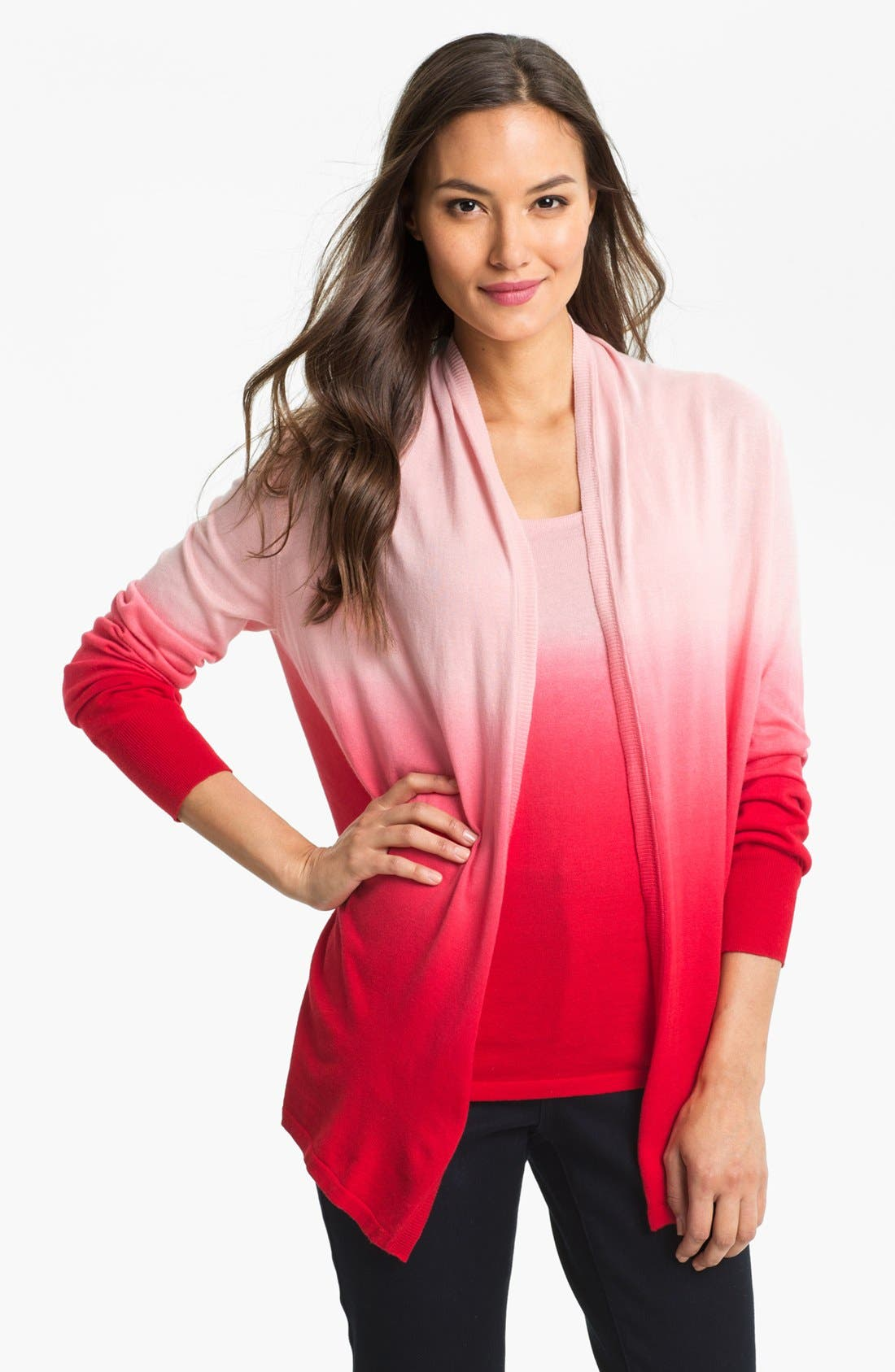 Main Image - Fever Ombré Cardigan