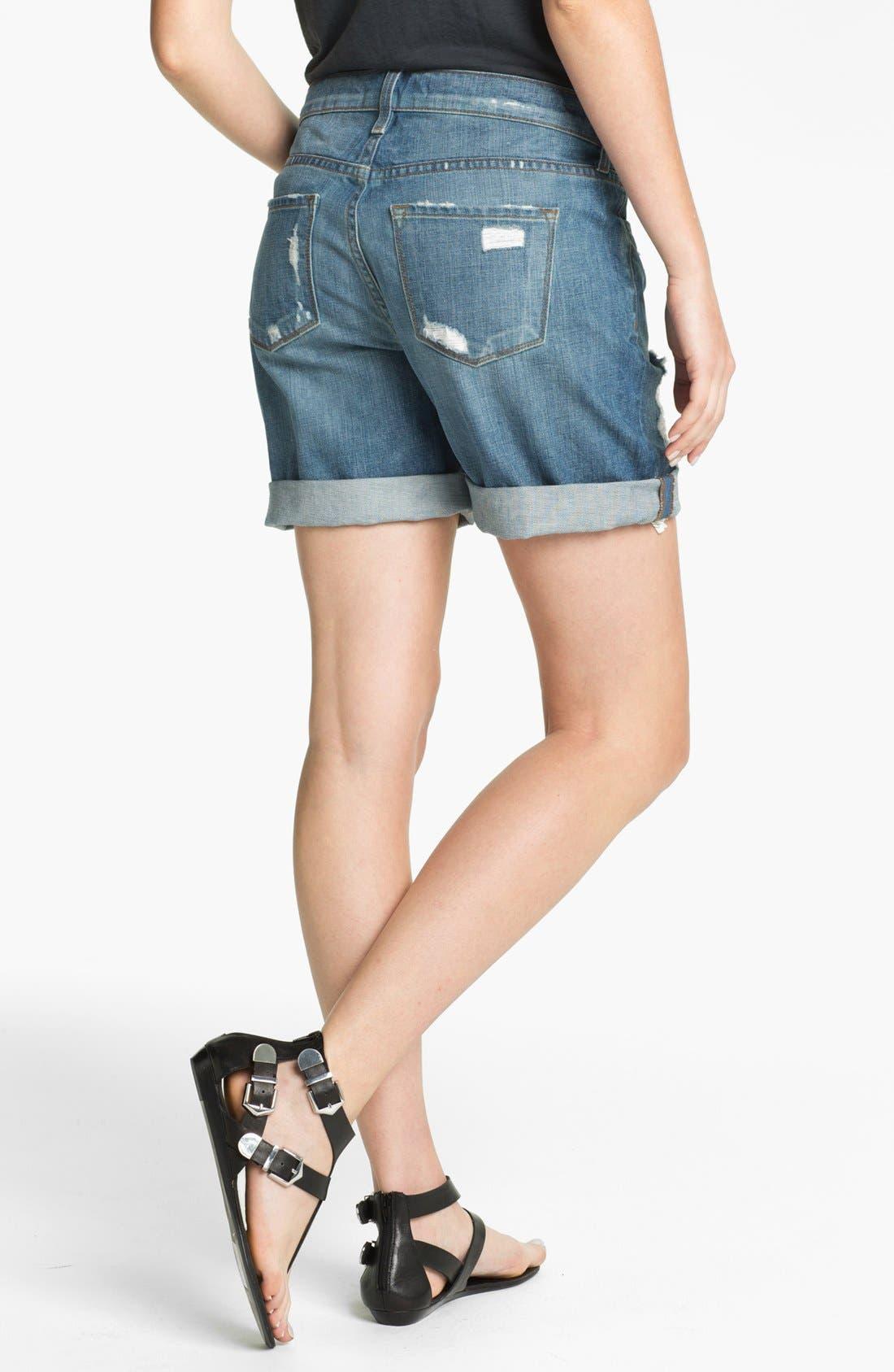 Alternate Image 2  - J Brand 'Nash' Destroyed Denim Shorts (Euphoria)