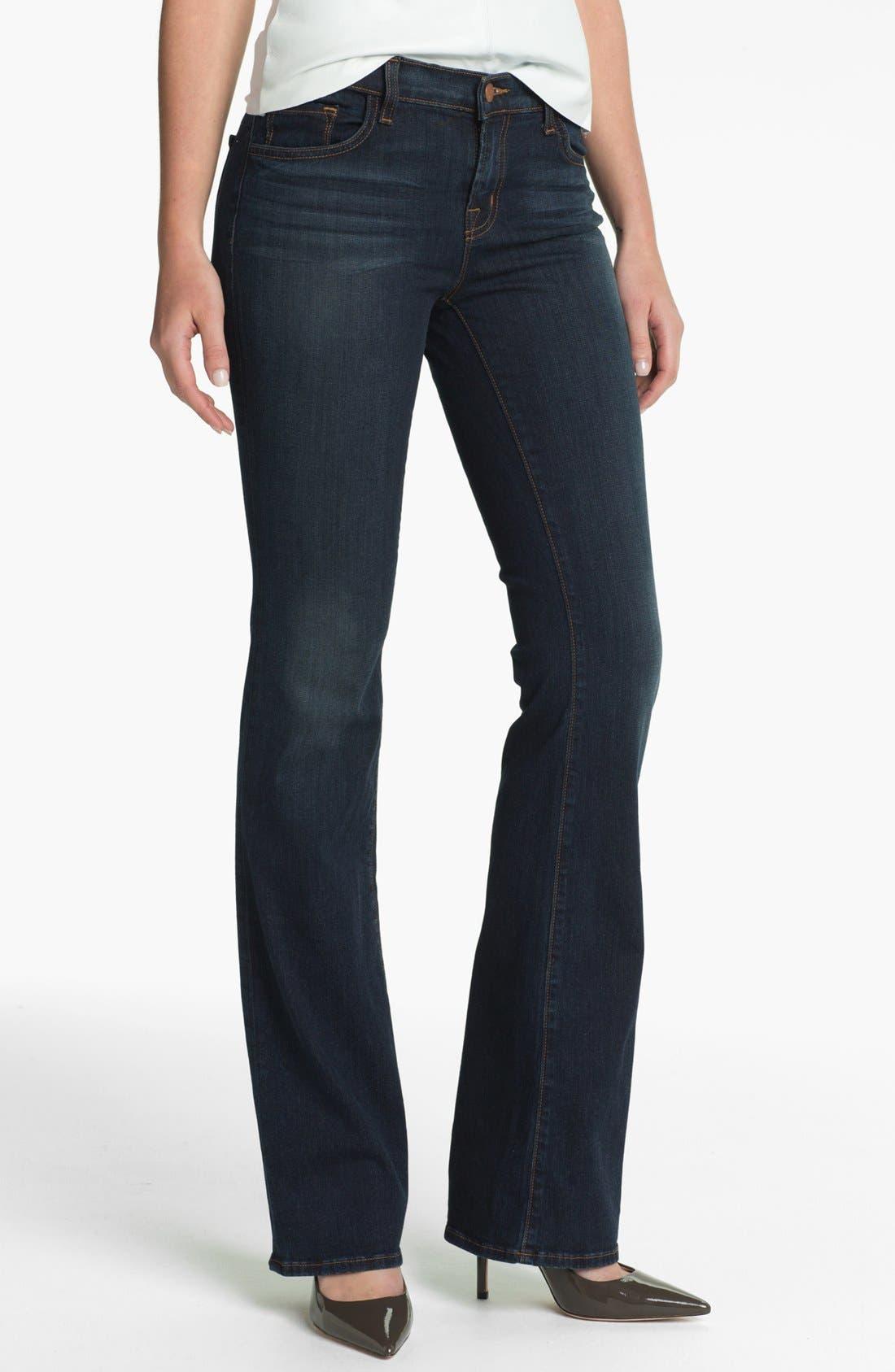 Alternate Image 1 Selected - J Brand Slim Bootcut Jeans (Veruca)