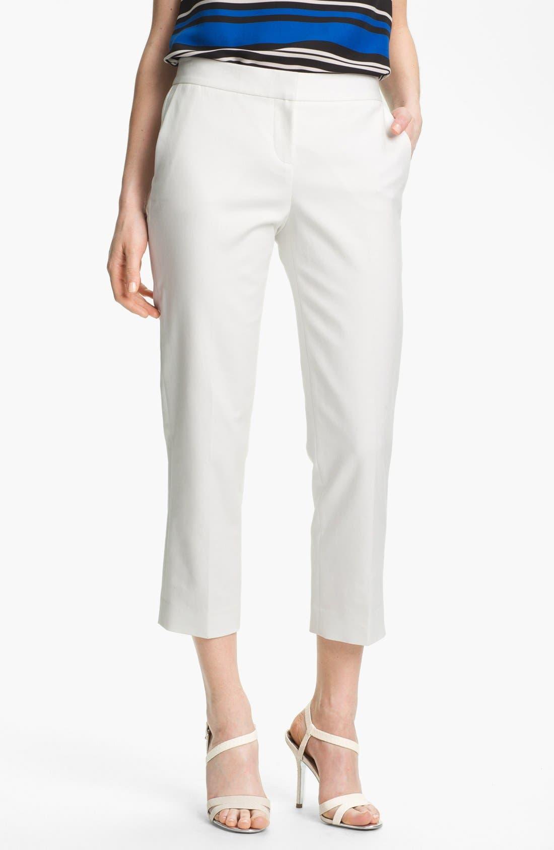 Alternate Image 1 Selected - Vince Camuto Skinny Crop Pants