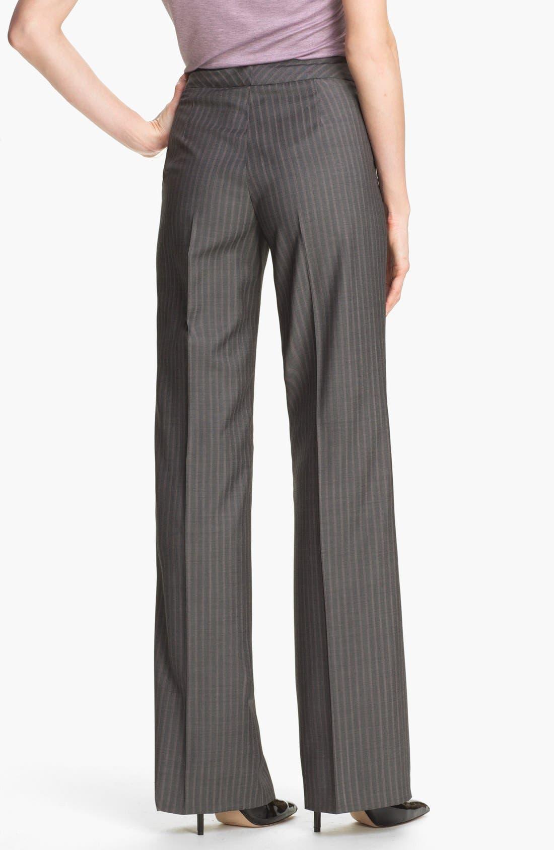 Alternate Image 2  - Santorelli 'Mara' Wool Pants