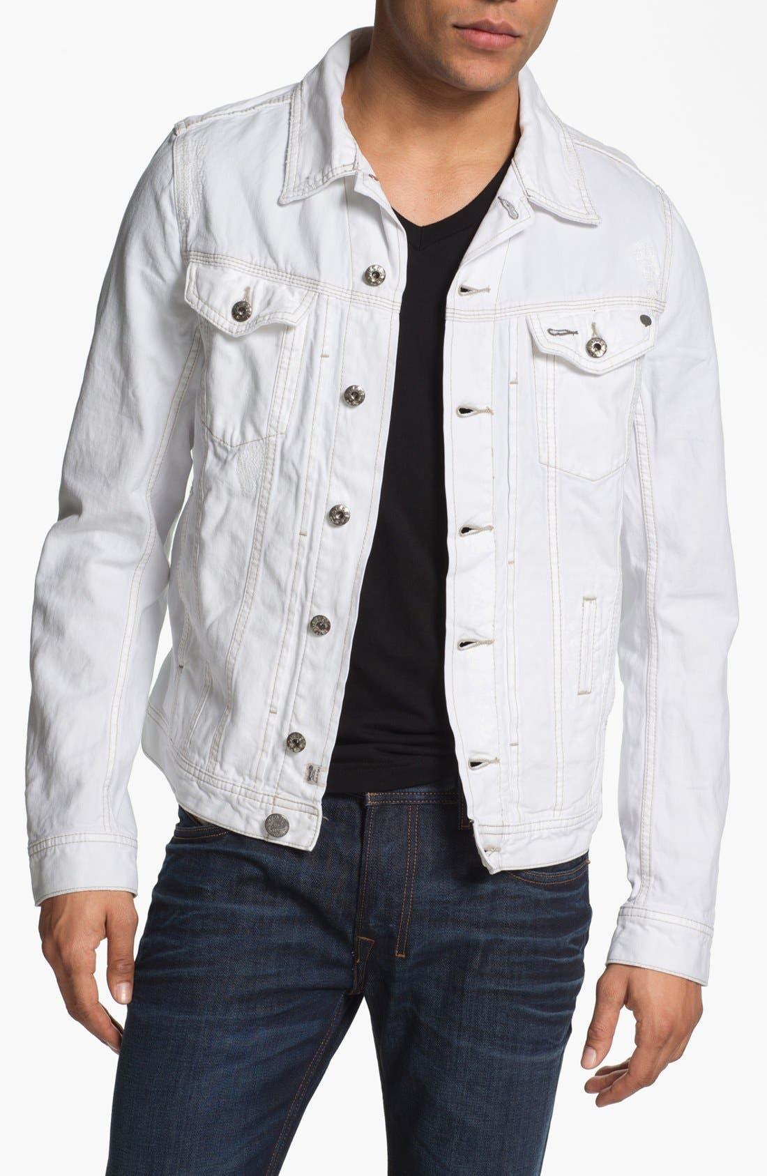 Main Image - DIESEL® 'Elshar' Denim Jacket