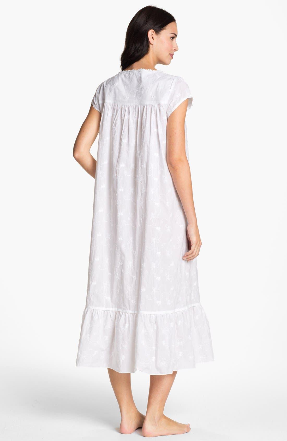 Alternate Image 2  - Eileen West 'Breaking Waves' Nightgown