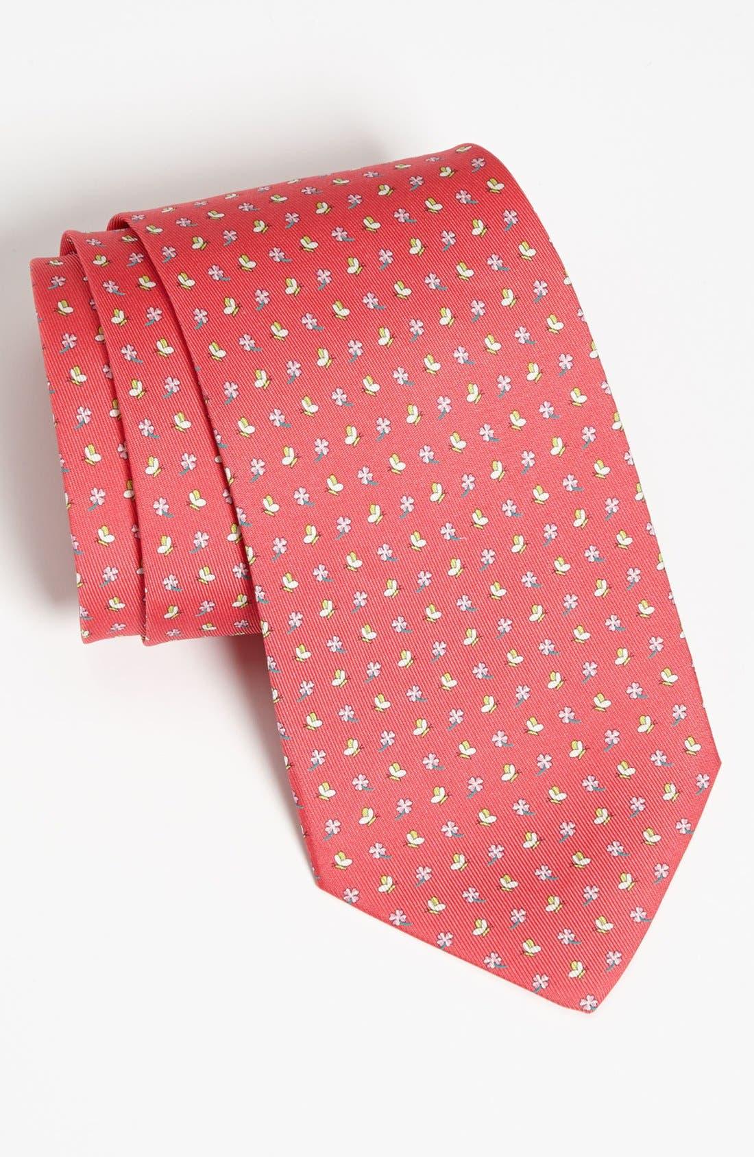 Main Image - Salvatore Ferragamo Woven Silk Tie