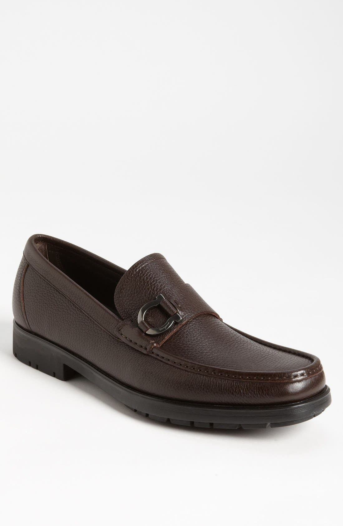 Alternate Image 1 Selected - Salvatore Ferragamo 'Biliardo' Loafer