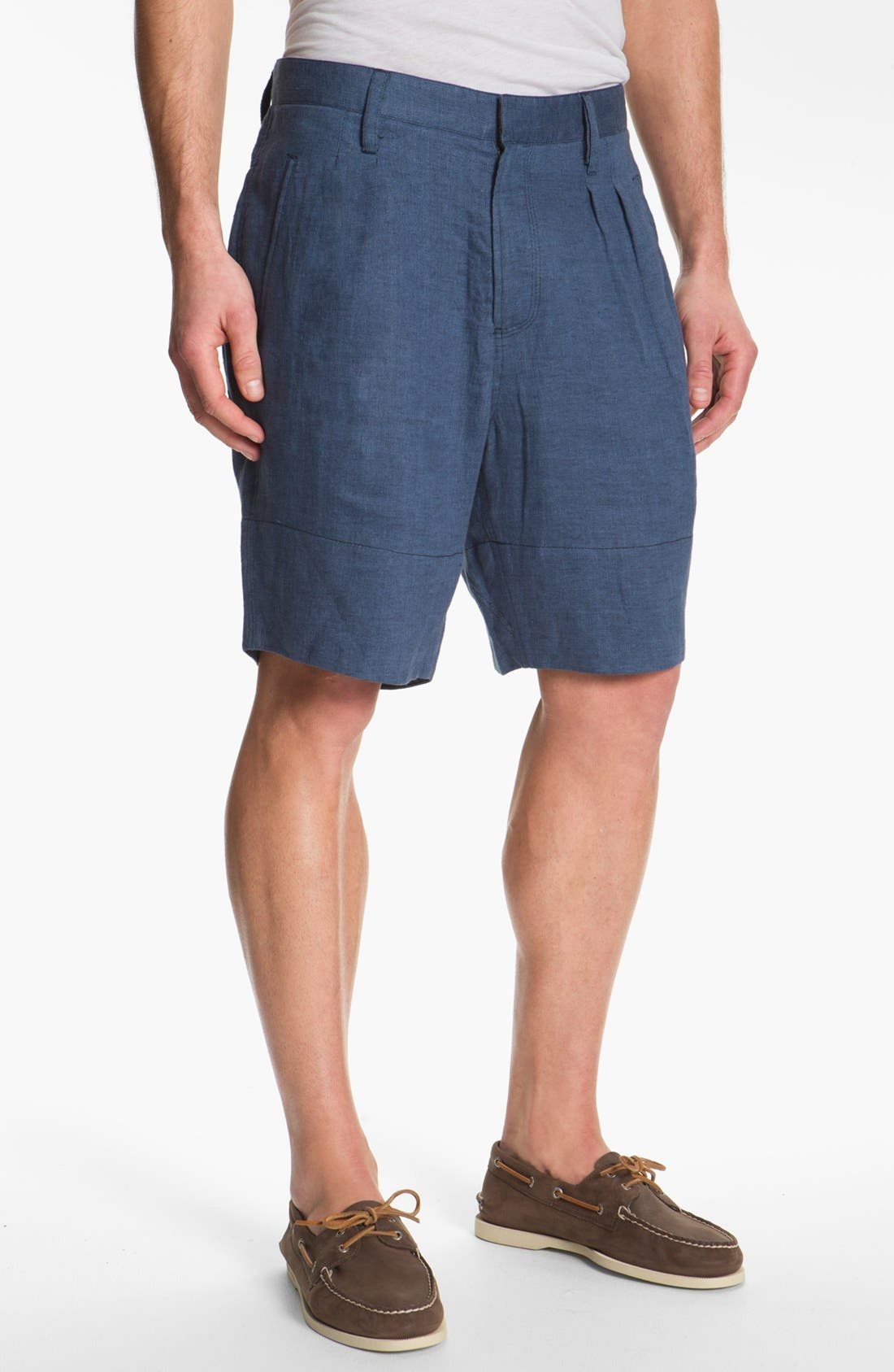 Alternate Image 1 Selected - Hyden Yoo 'William' Linen Shorts