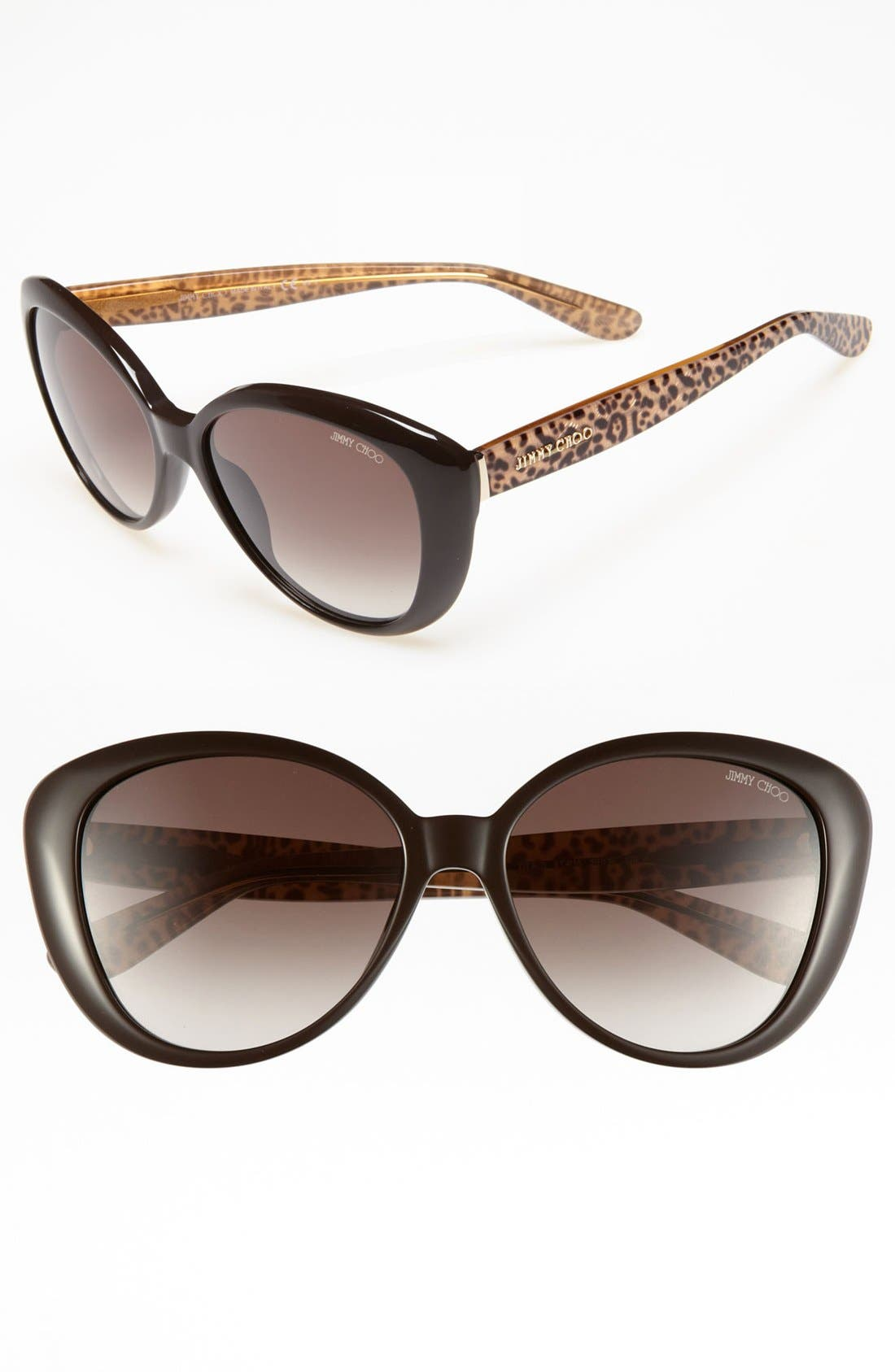 Main Image - Jimmy Choo 55mm Sunglasses