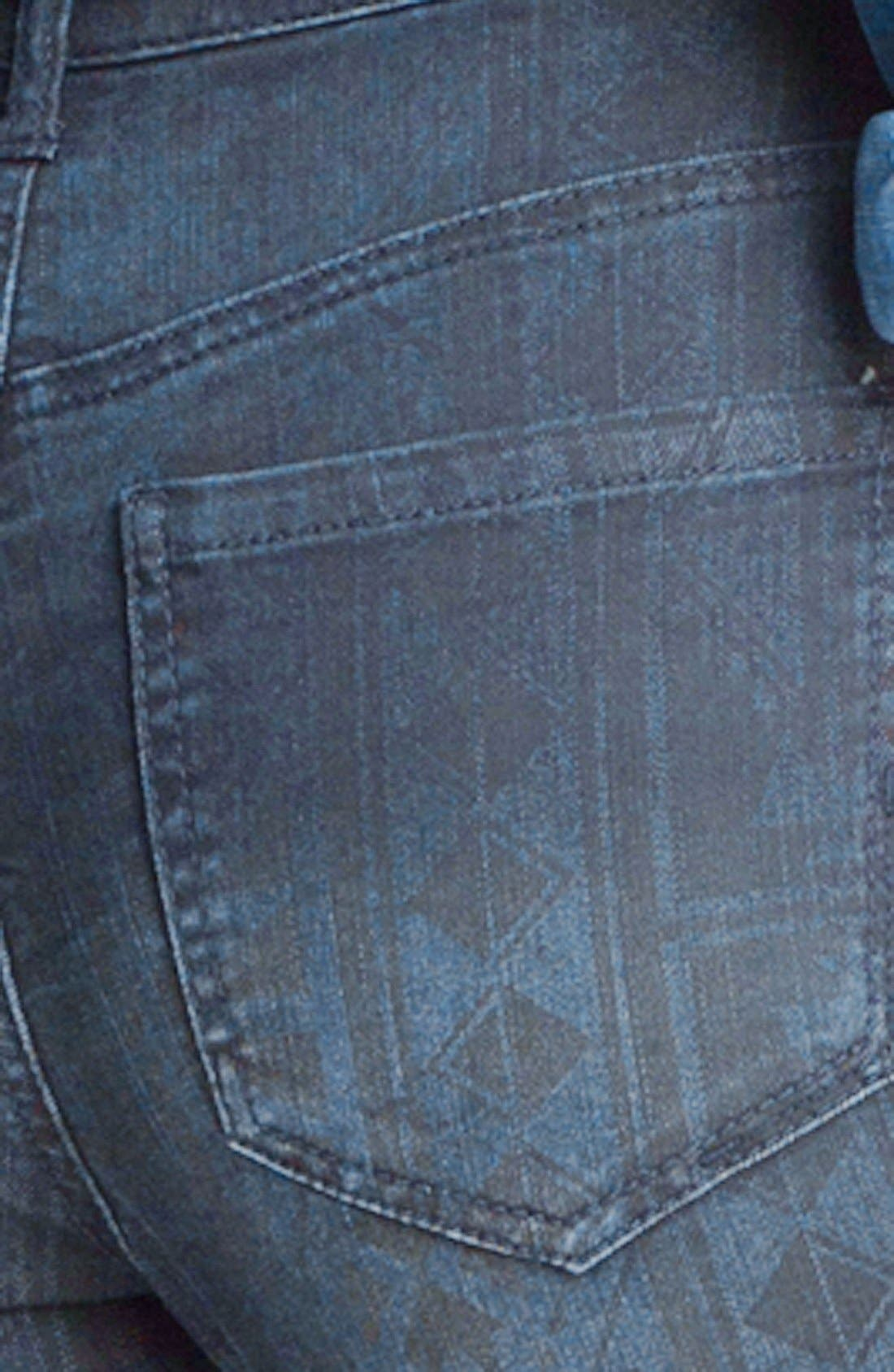 Alternate Image 3  - Liverpool Jeans Company 'Abby' Print Skinny Ankle Jeans