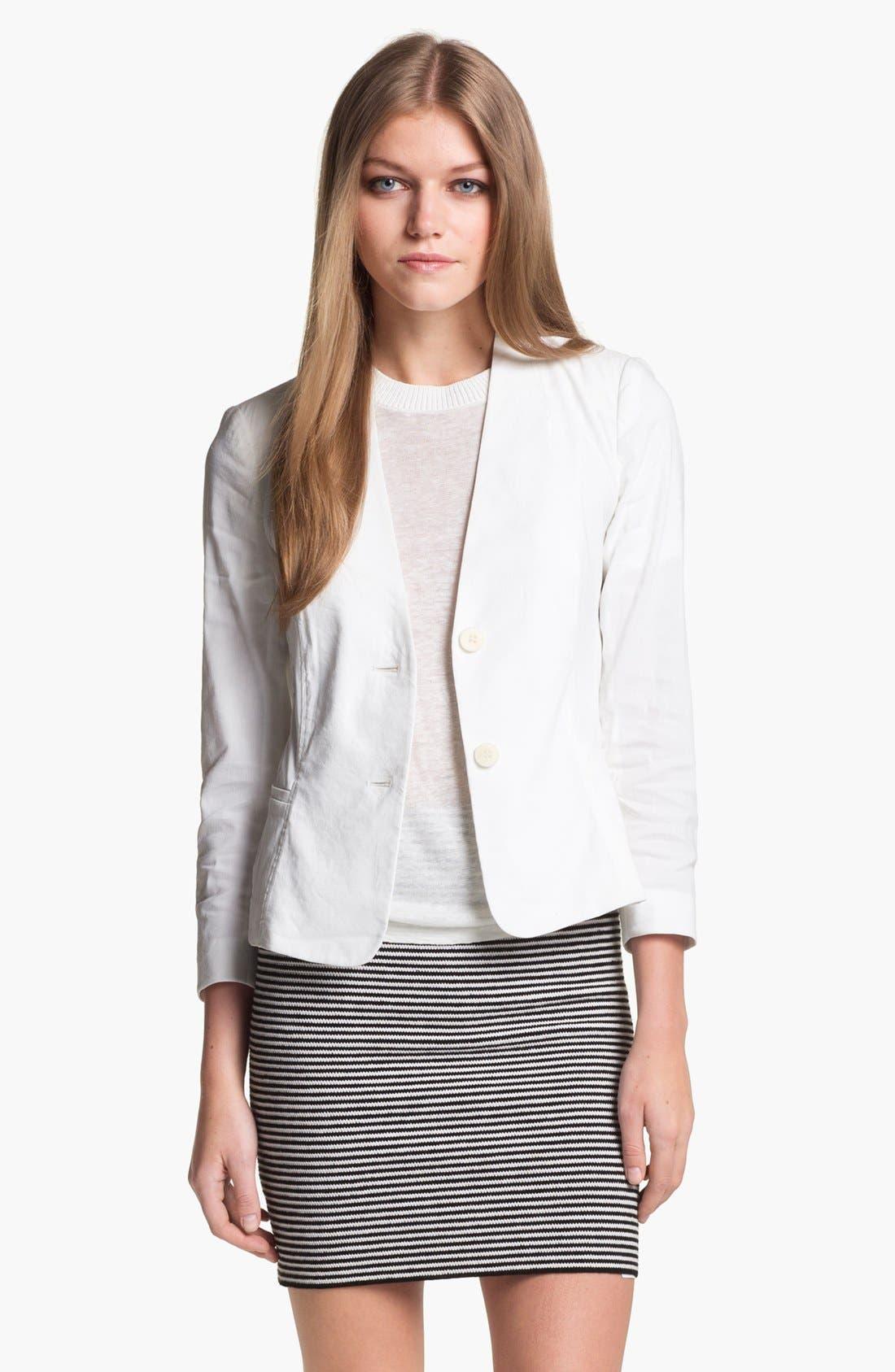 Alternate Image 1 Selected - Theory 'Dalite' Linen Blend Jacket