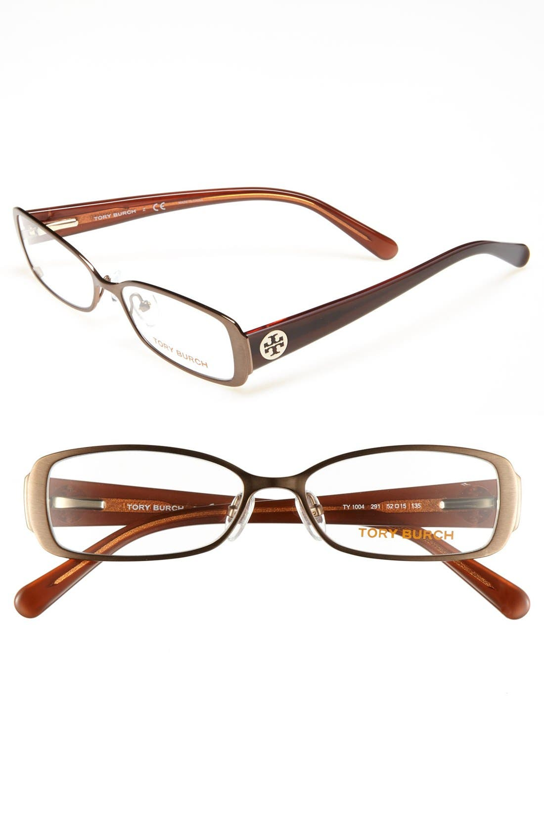 Main Image - Tory Burch 52mm Optical Glasses (Online Only)