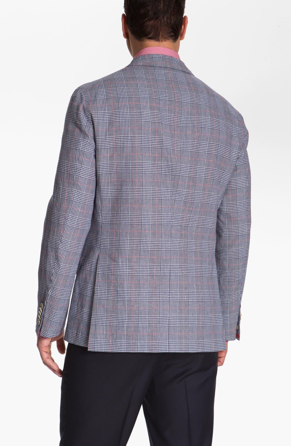 Alternate Image 2  - BOSS HUGO BOSS 'Lanyon' Trim Fit Plaid Sportcoat