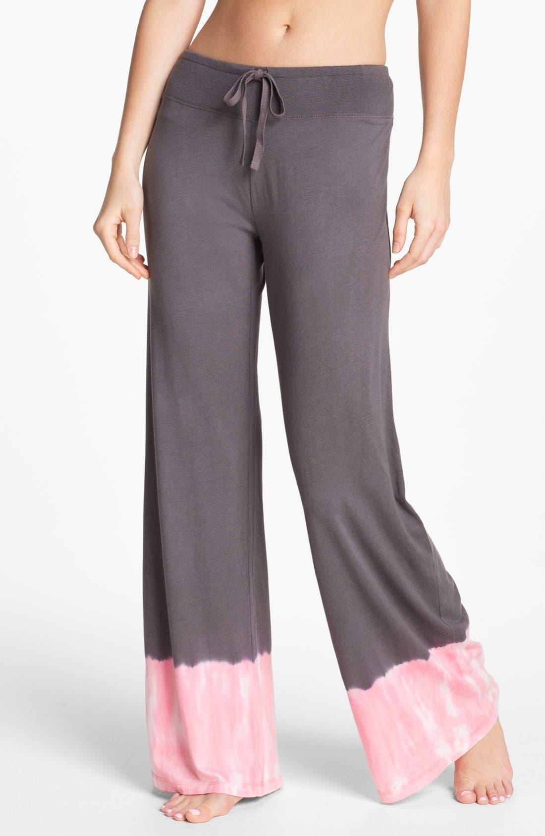 Alternate Image 1 Selected - PJ Salvage 'Pink Dyes' Palazzo Pants