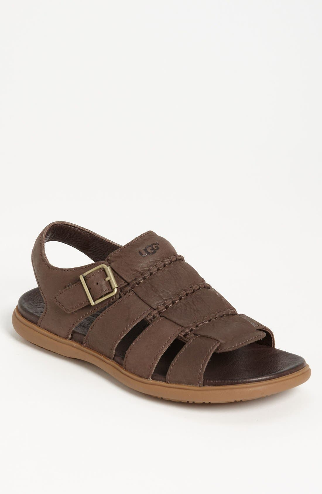 Alternate Image 1 Selected - UGG® Australia 'Roitman' Sandal (Men)
