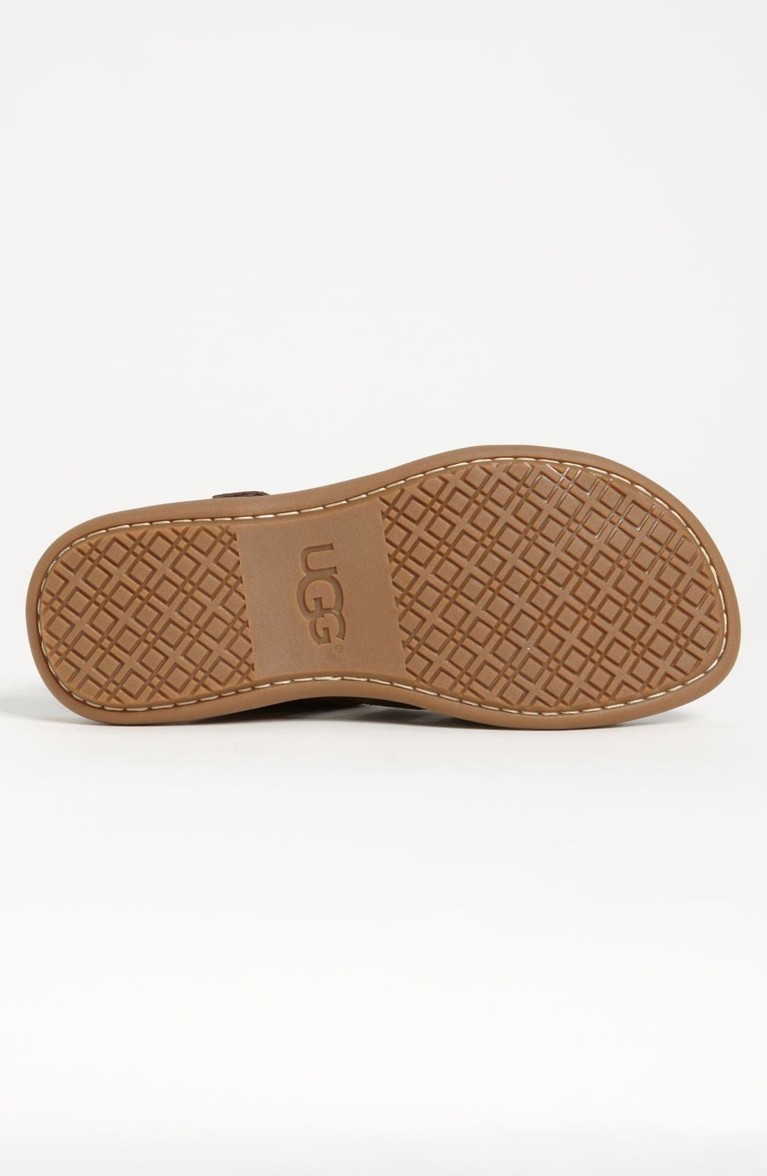 Alternate Image 4  - UGG® Australia 'Roitman' Sandal (Men)
