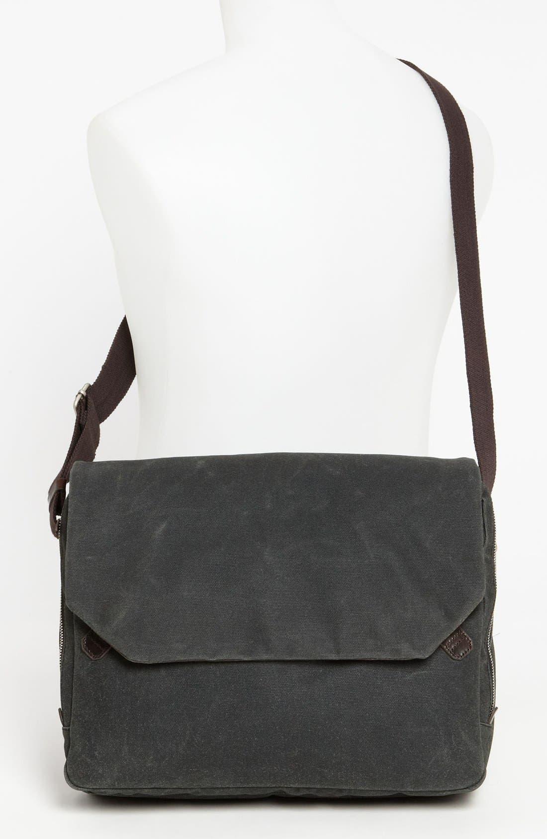 Alternate Image 4  - Property Of… 'Wally' Messenger Bag