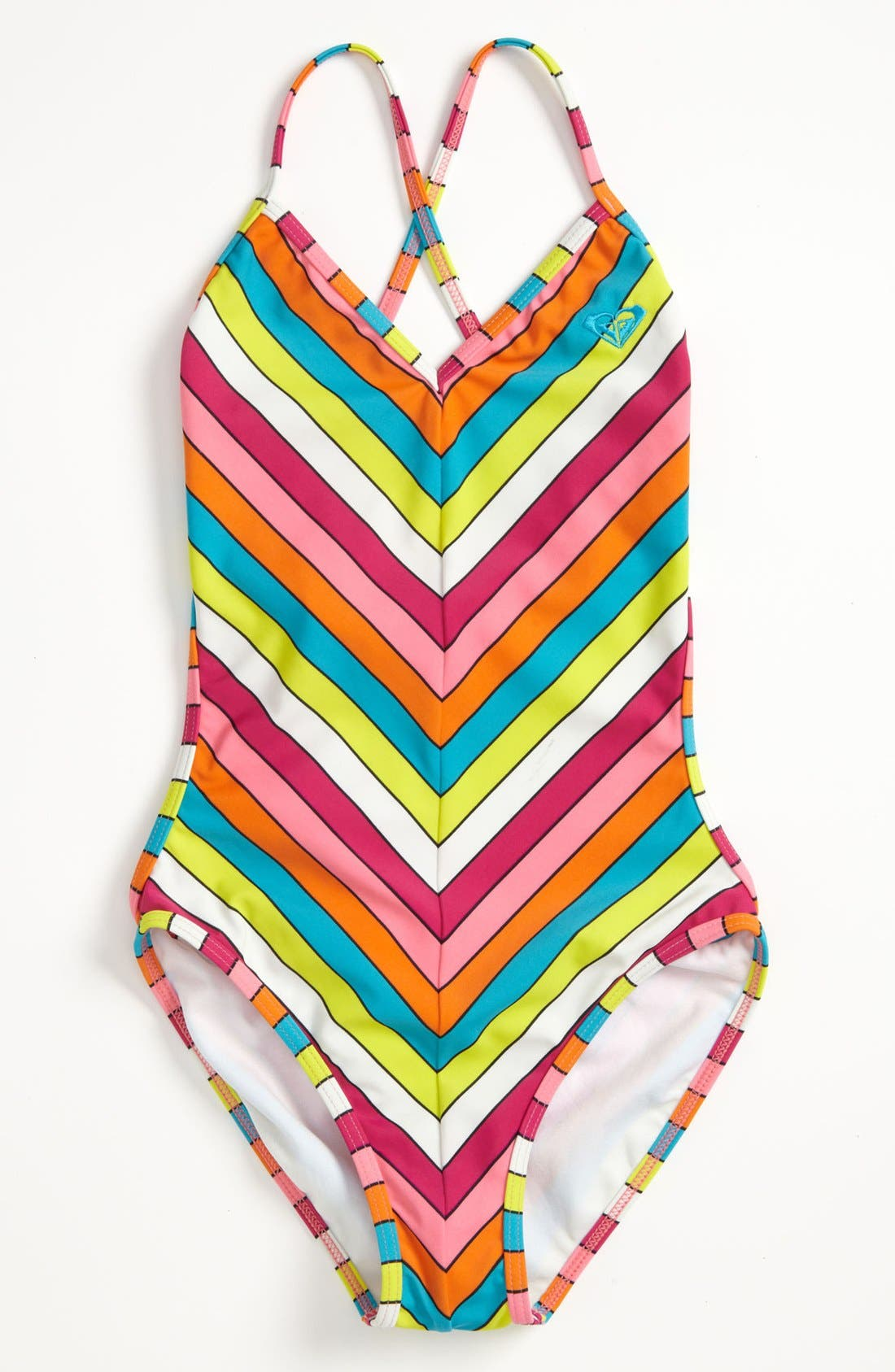 Alternate Image 1 Selected - One Piece Swimsuit (Big Girls)