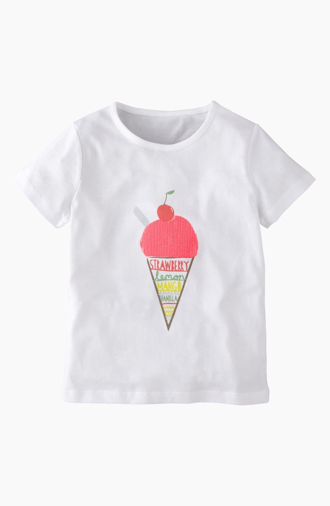 Alternate Image 1 Selected - Mini Boden 'Twinkly' Tee (Big Girls)