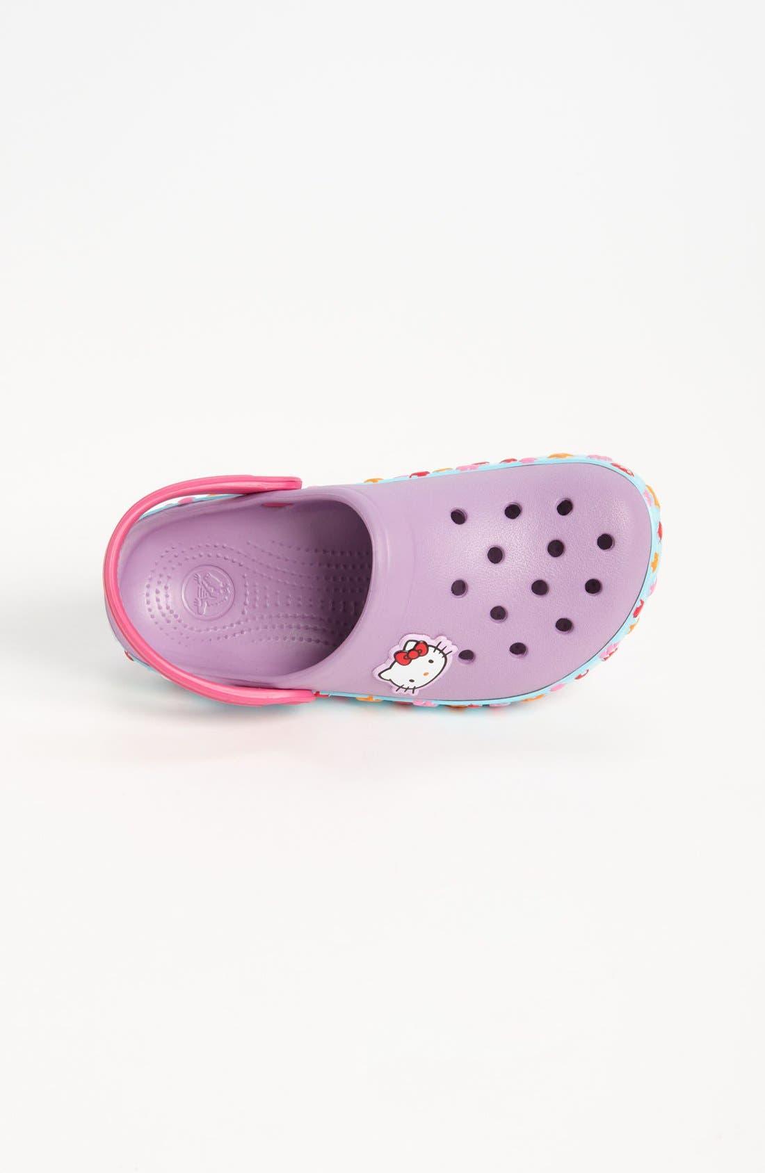 Alternate Image 3  - CROCS™ 'Hello Kitty® - Mermaid' Slip-On (Walker & Toddler)